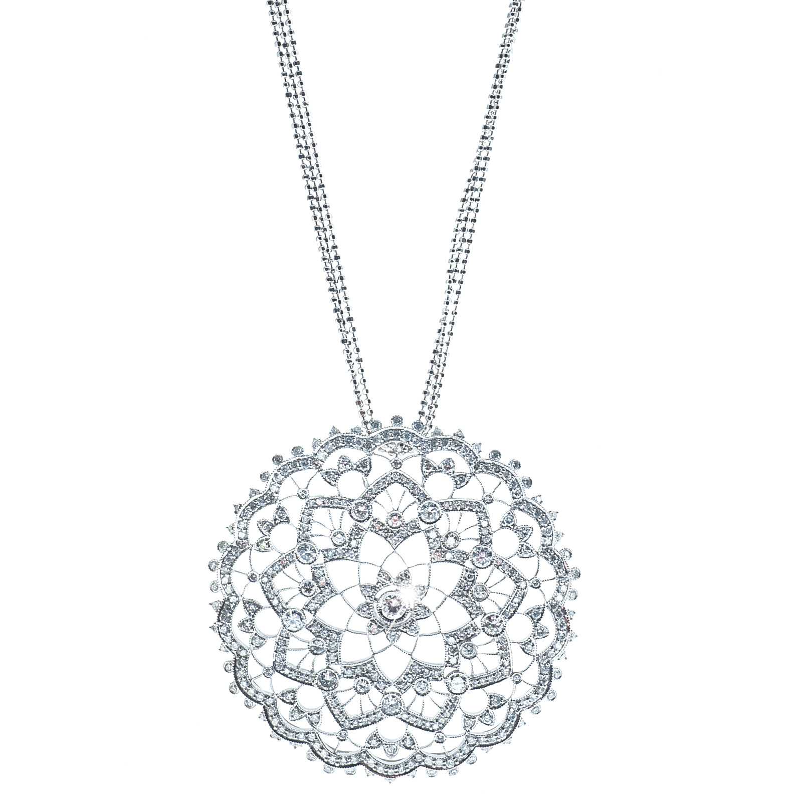 3.27 CTW Diamond Lacey Necklace