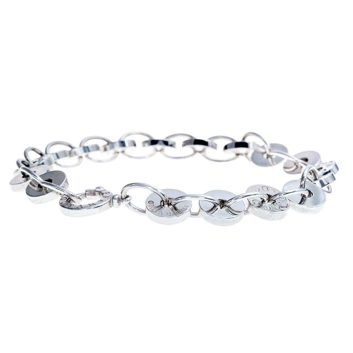 Vintage Tiffany & Co. 1837 Circle Bracelet