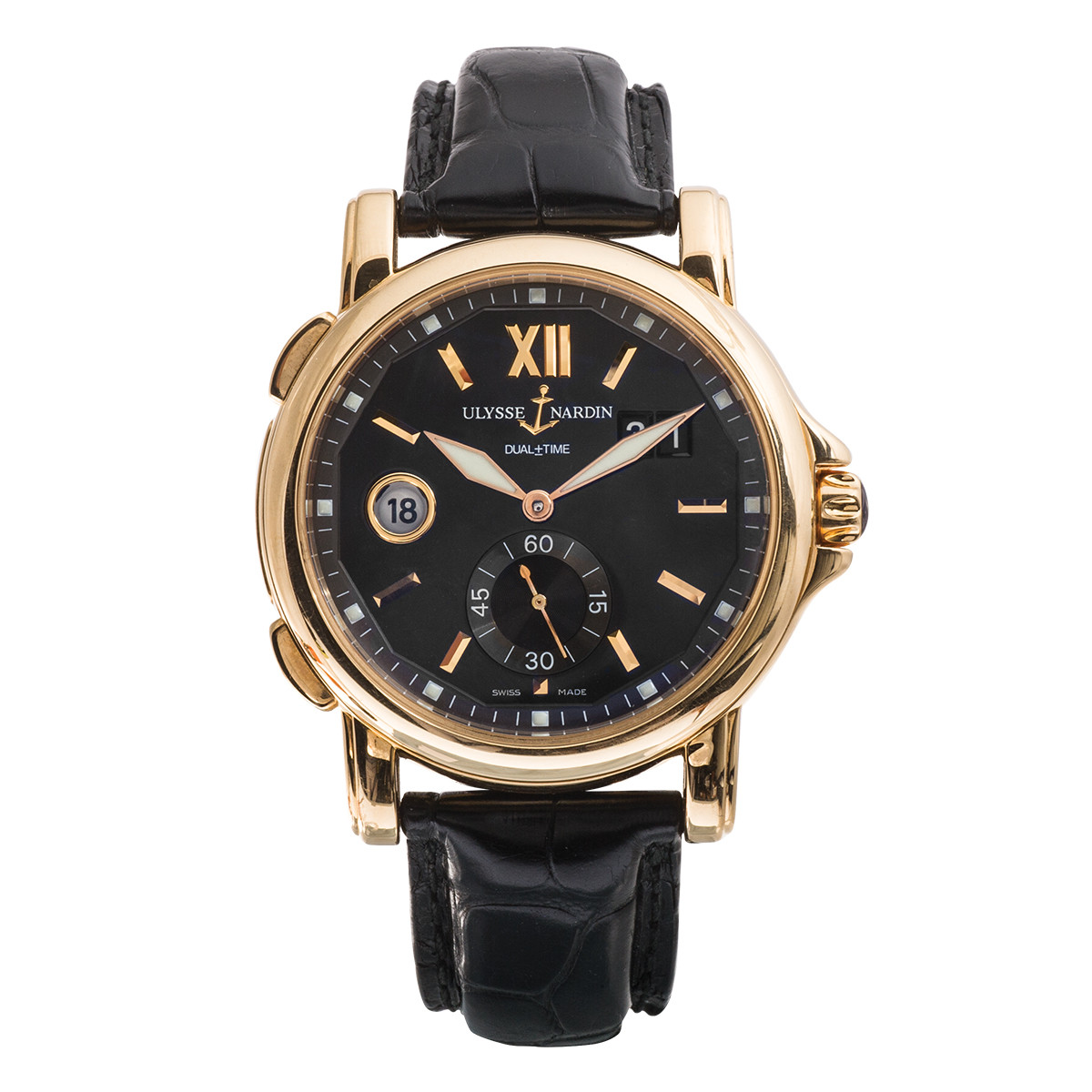 Preowned Ulysse Nardin GMT Dual Time