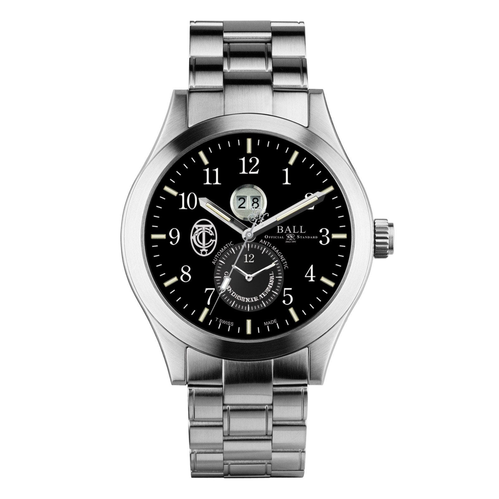 New Men's Ball Engineer Master II GCT Dual Time