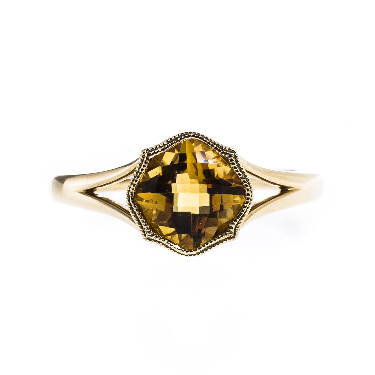 1.26 CT Citrine Ring