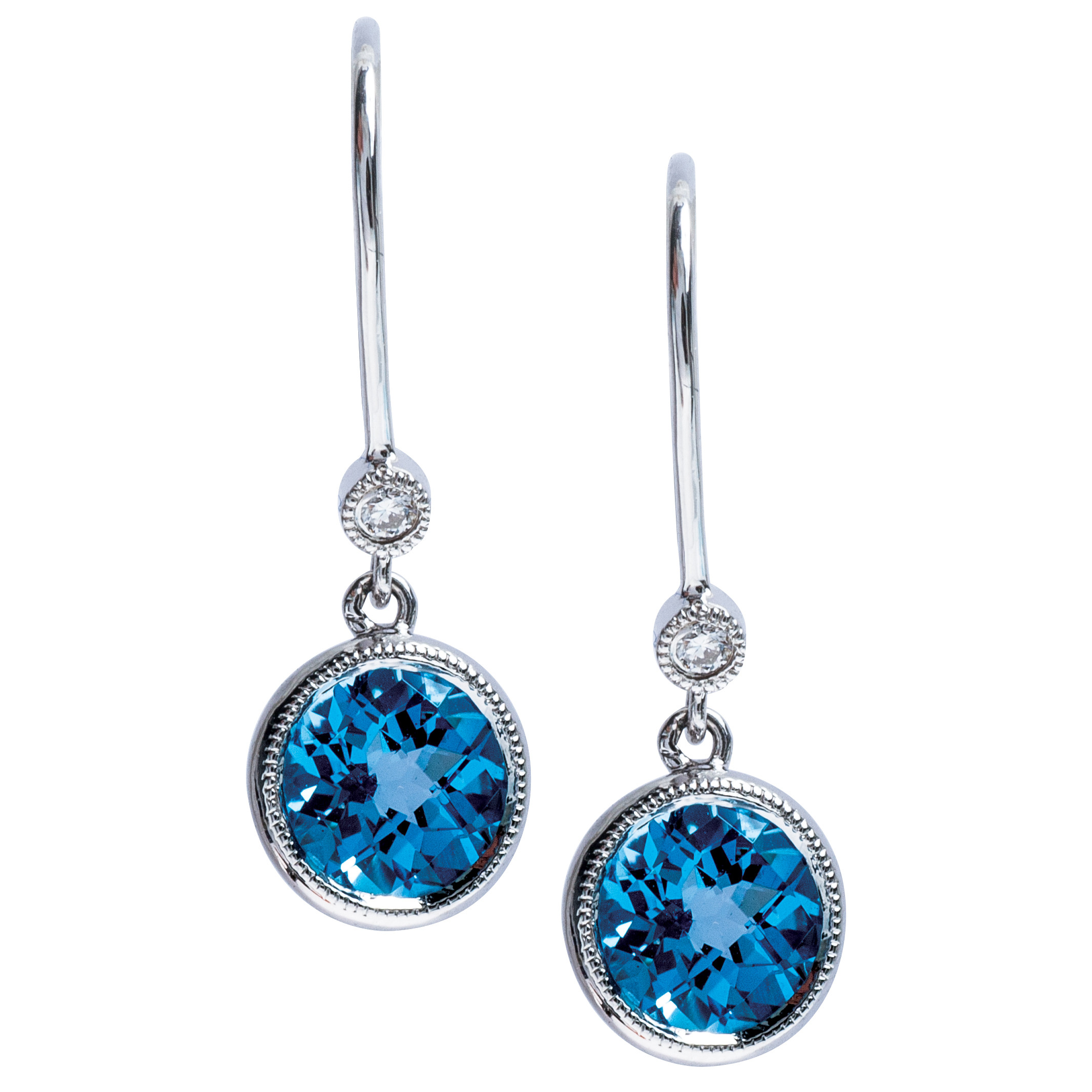New 1.86 CTW Topaz Earrings
