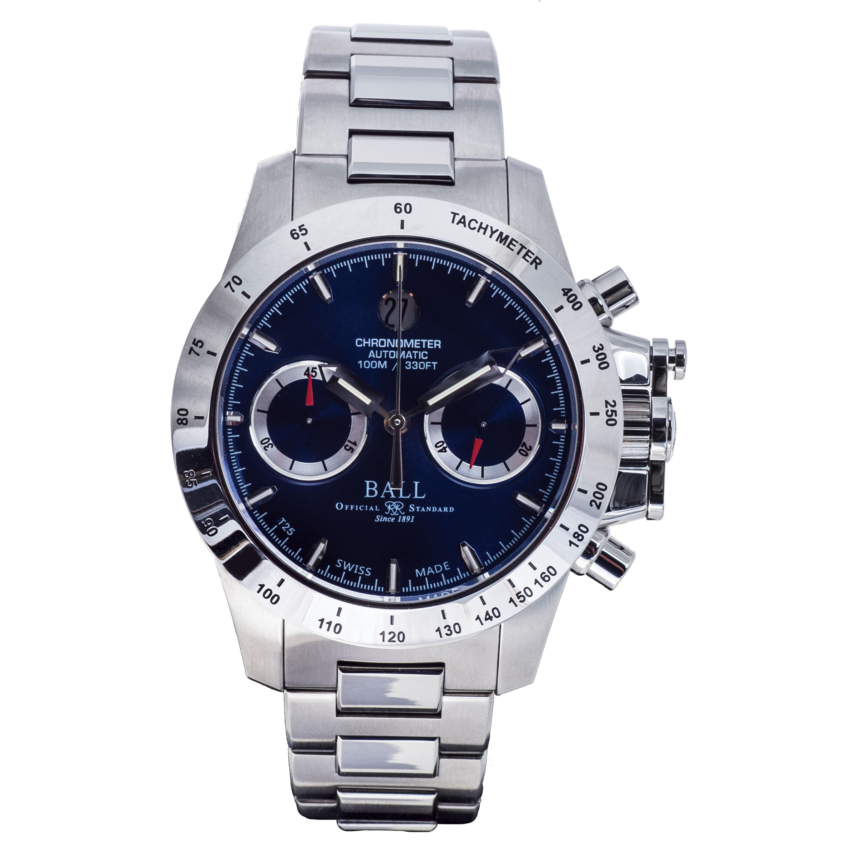 New Men's Ball Engineer Hydrocarbon Magnate Chronograph