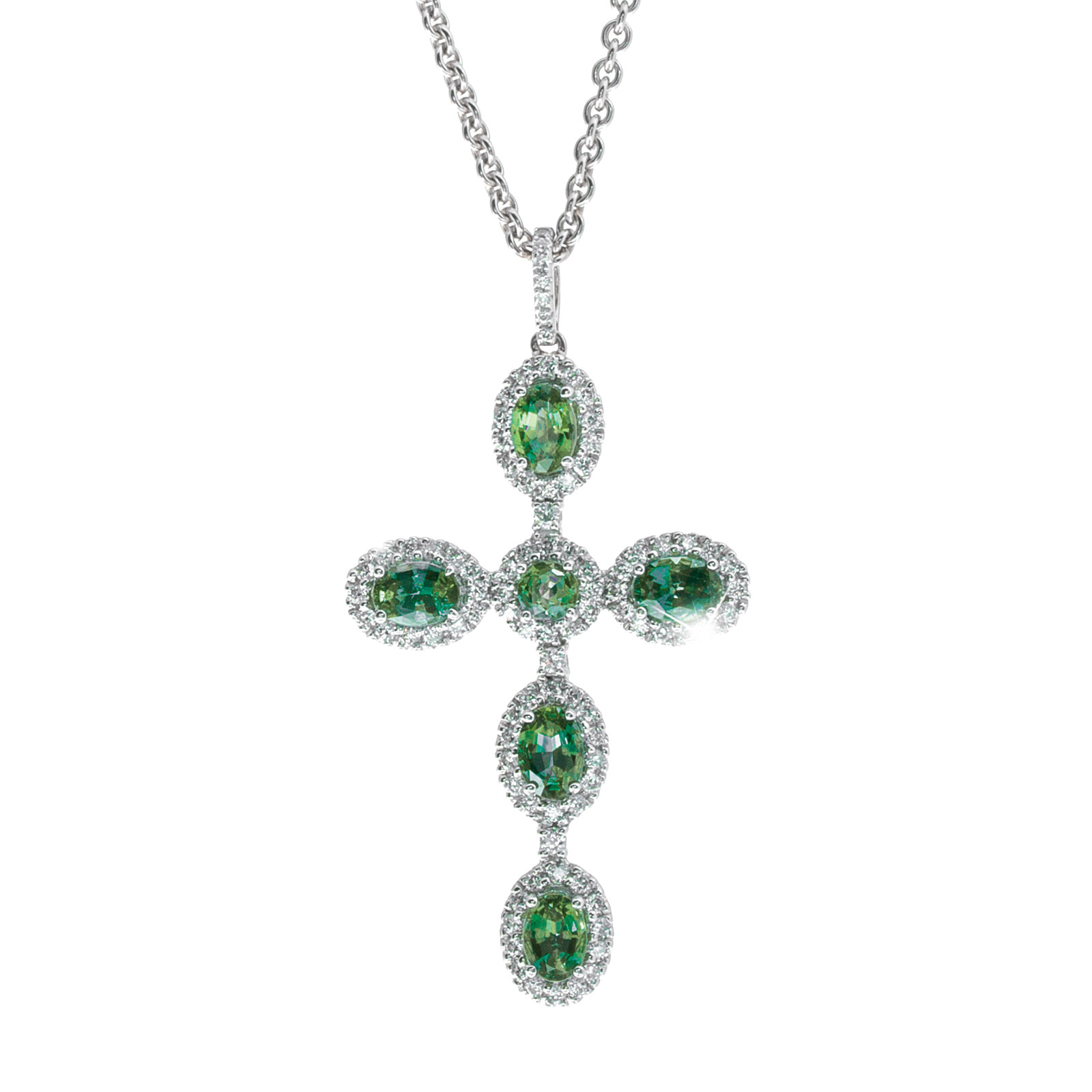 cz halo glitzy rocks necklace of june gemstone birthstone alexandrite picture p sterling silver