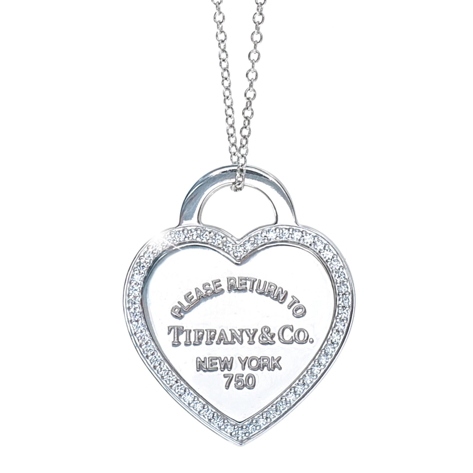 Vintage Tiffany & Co. Return to Tiffany Heart Tag Necklace