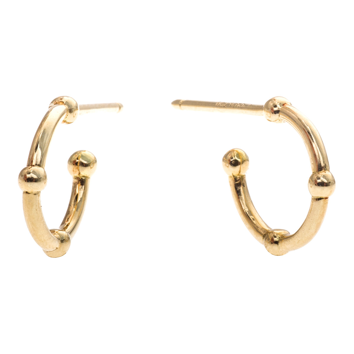 Vintage Tiffany & Co. Small Hoop Earrings