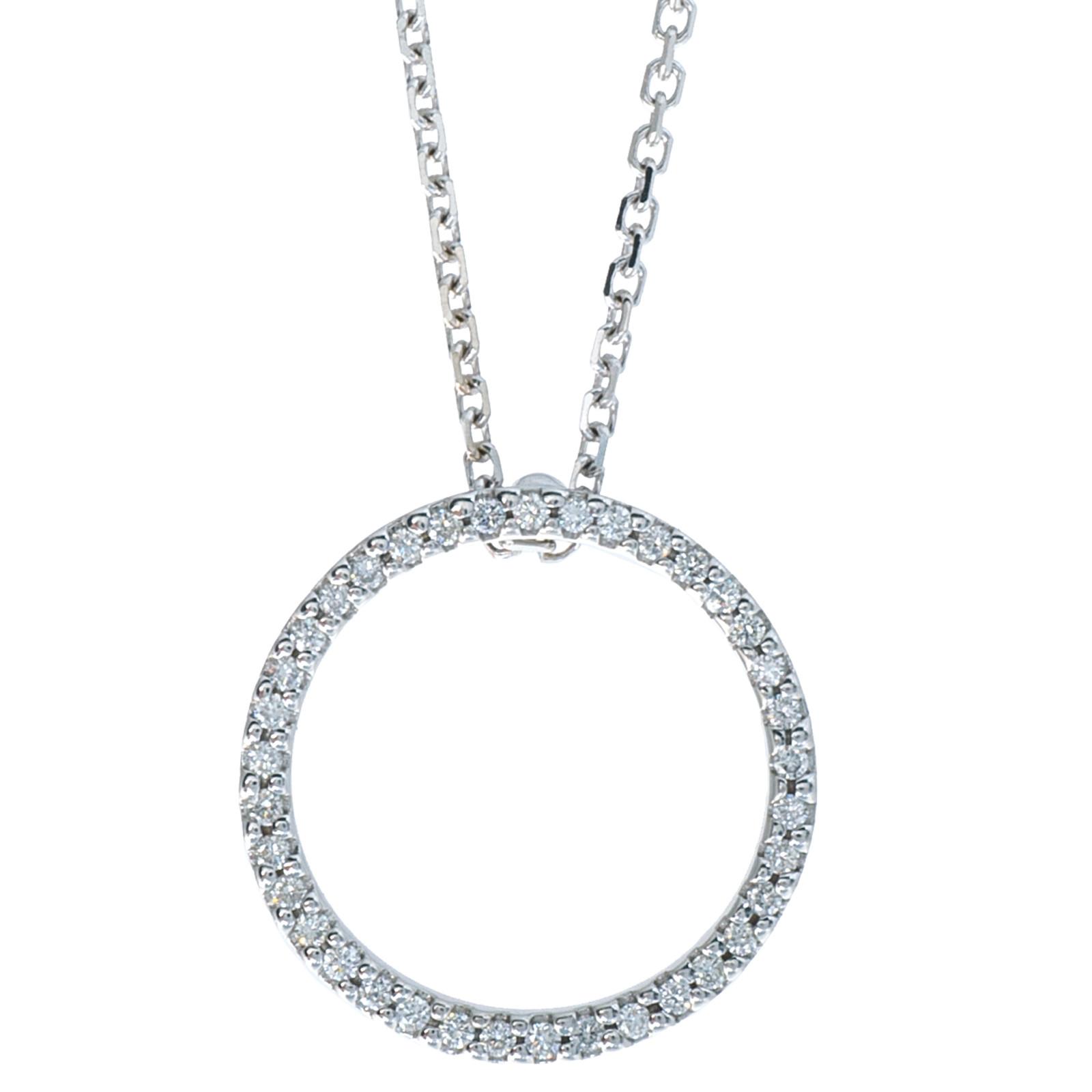 VIntage Roberto Coin Circle of Life Necklace