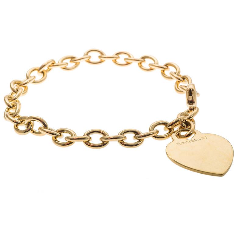 Vintage Tiffany & Co. Heart Tag Bracelet