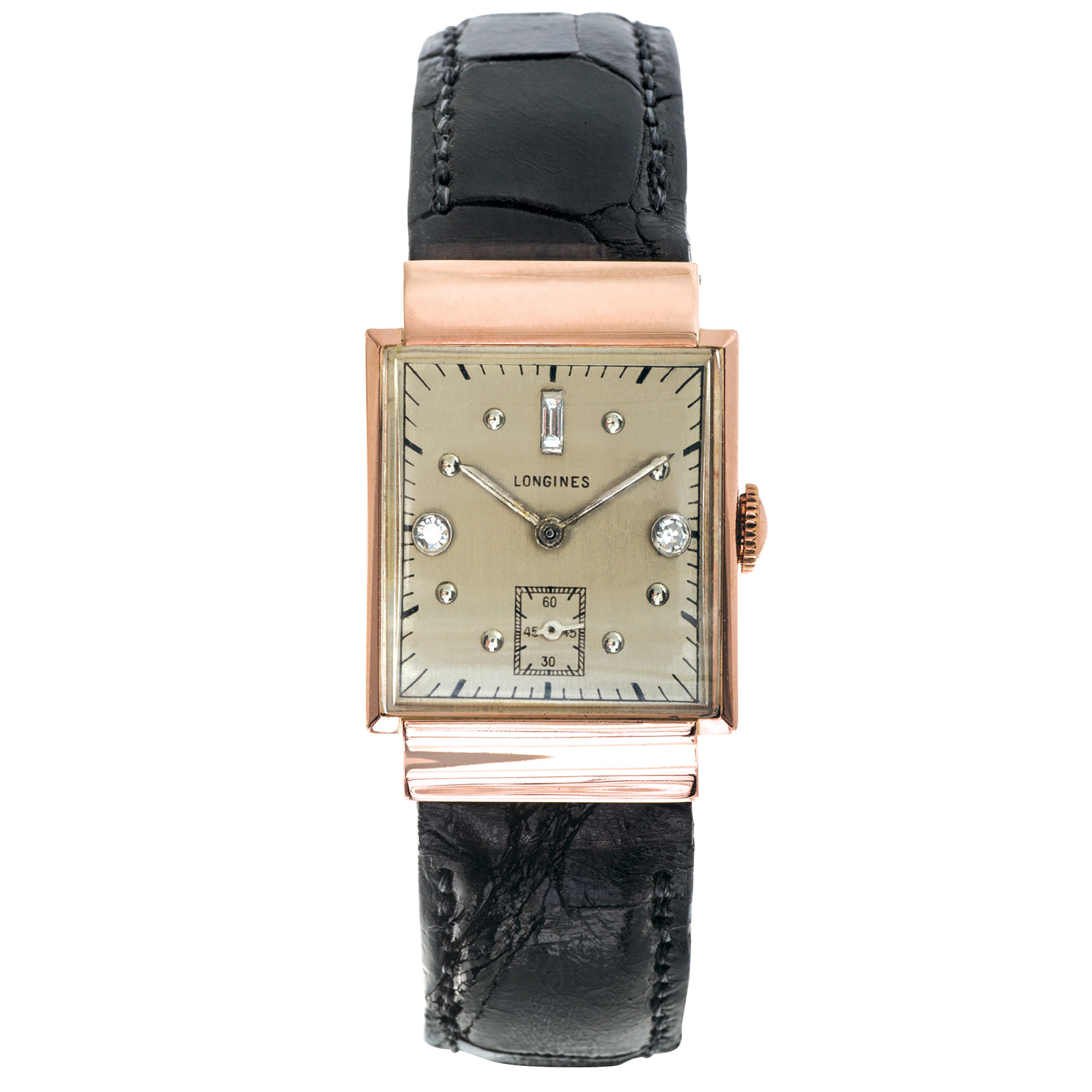 Pre-Owned Longines With Diamond Dial