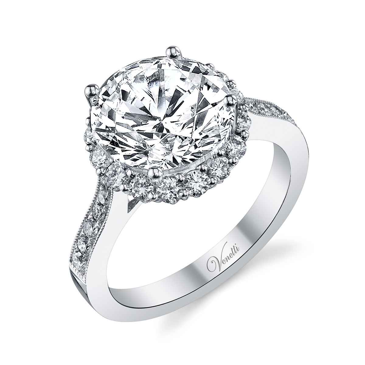 New Venetti 0.69 CTW Diamond Ring Setting