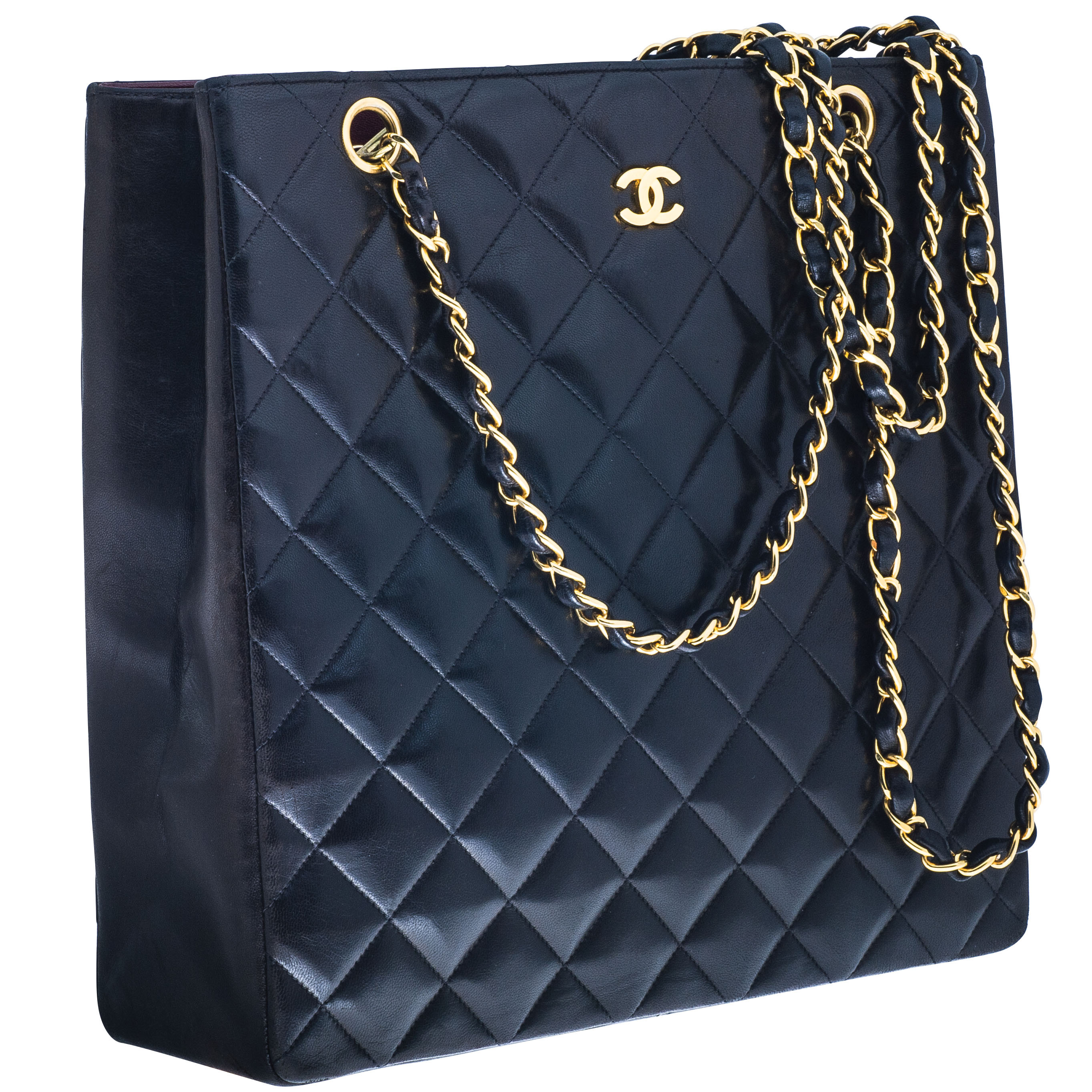 Vintage Chanel Leather Handbag