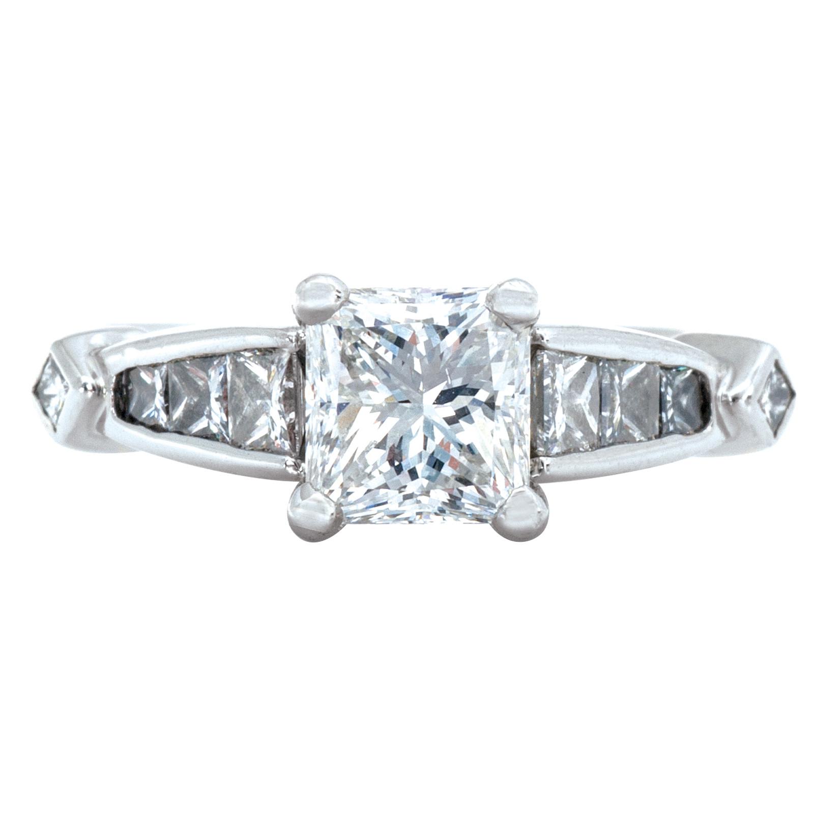 Vintage Scott Kay 1.46 CTW Diamond Engagement Ring