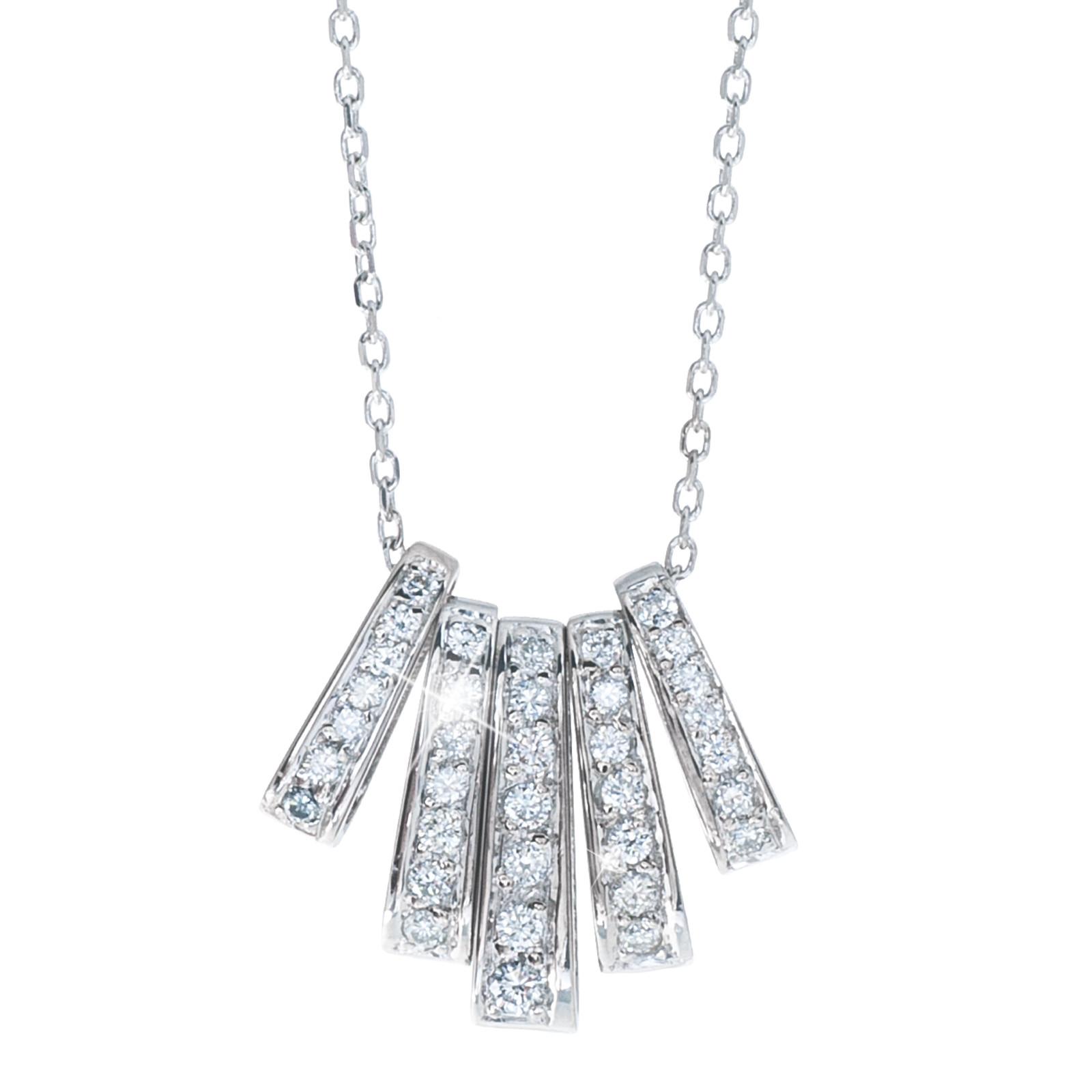 Vintage 0.50 CTW Diamond Pendant