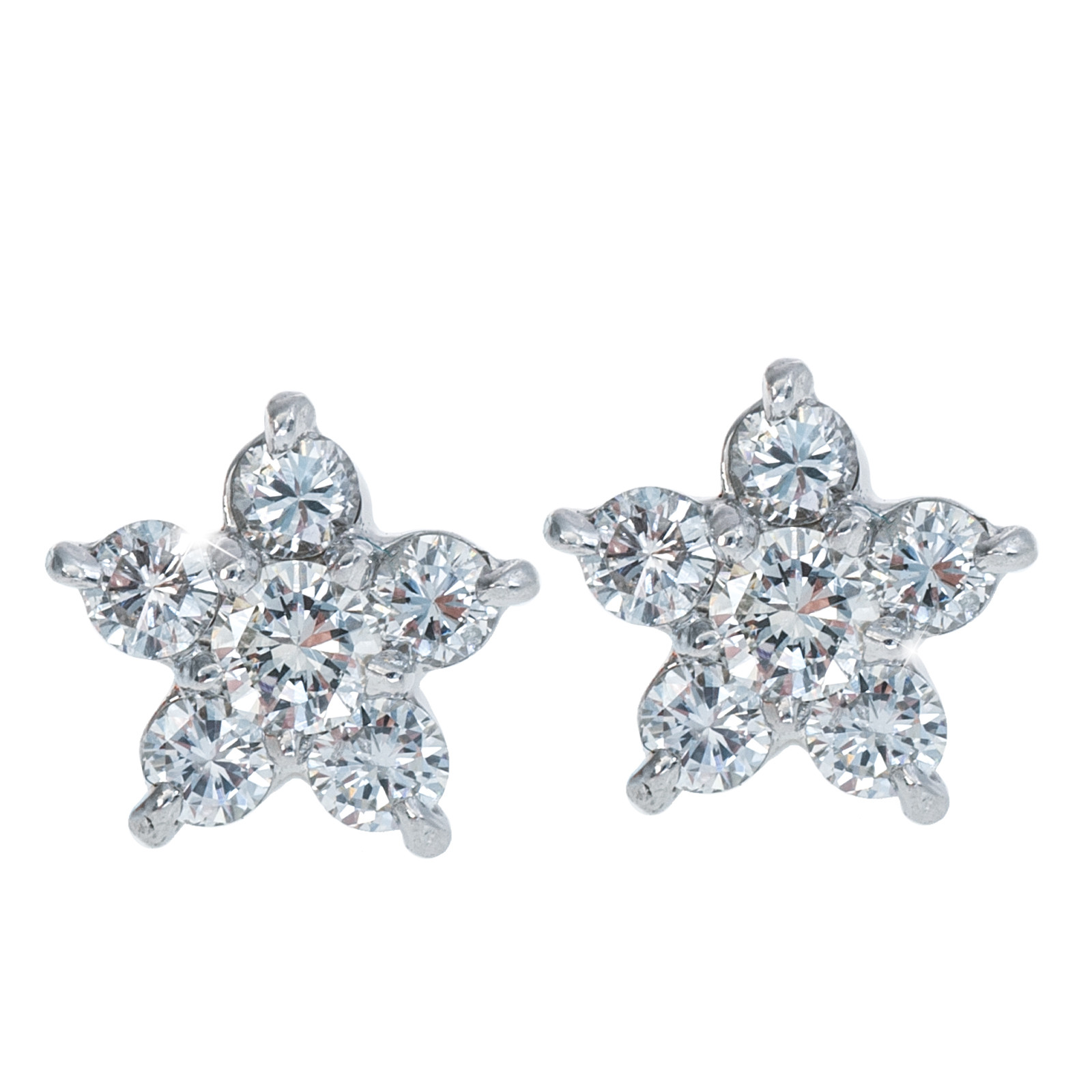 Vintage 0.60 CTW Diamond Earrings