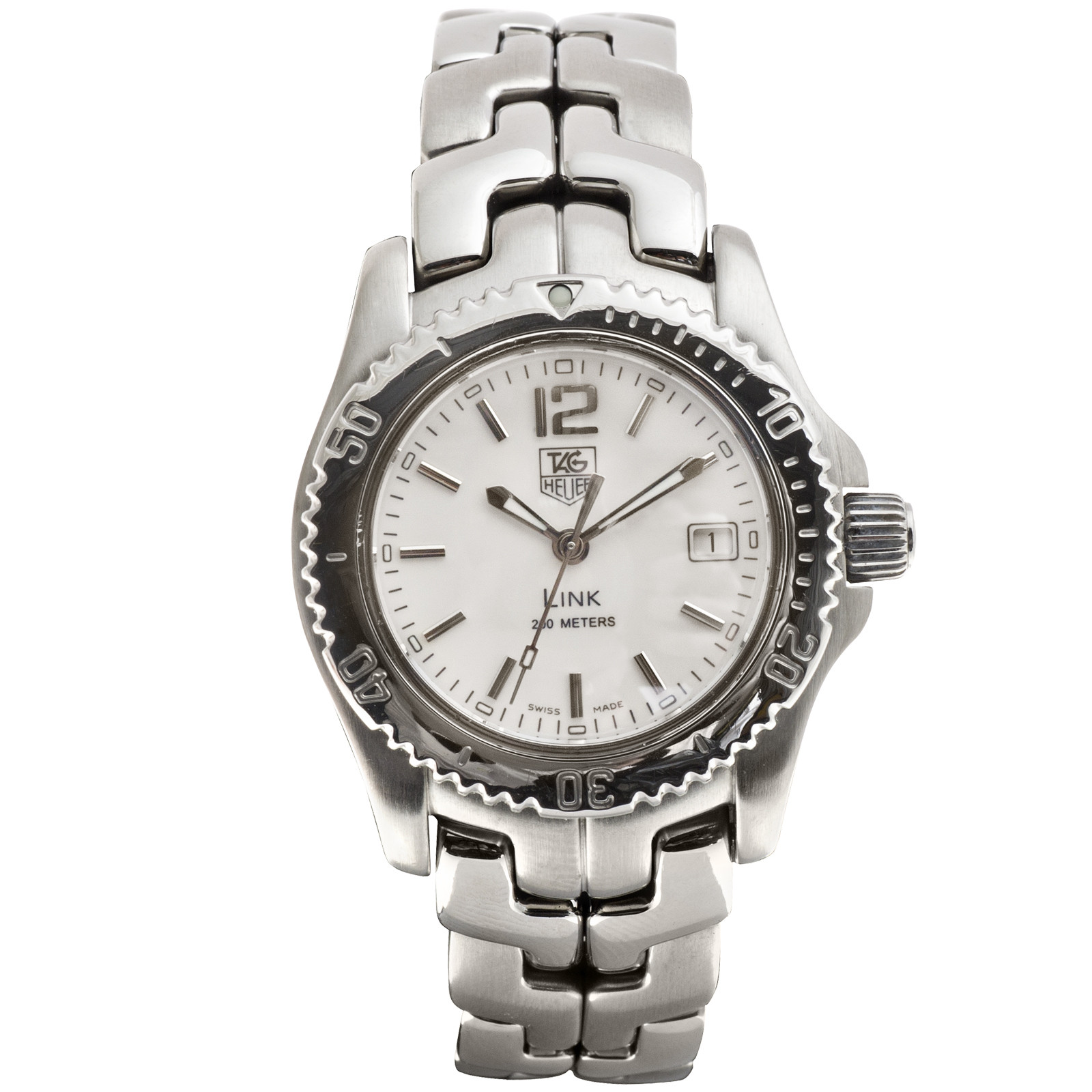 Preowned Women's Tag Heuer Link Date