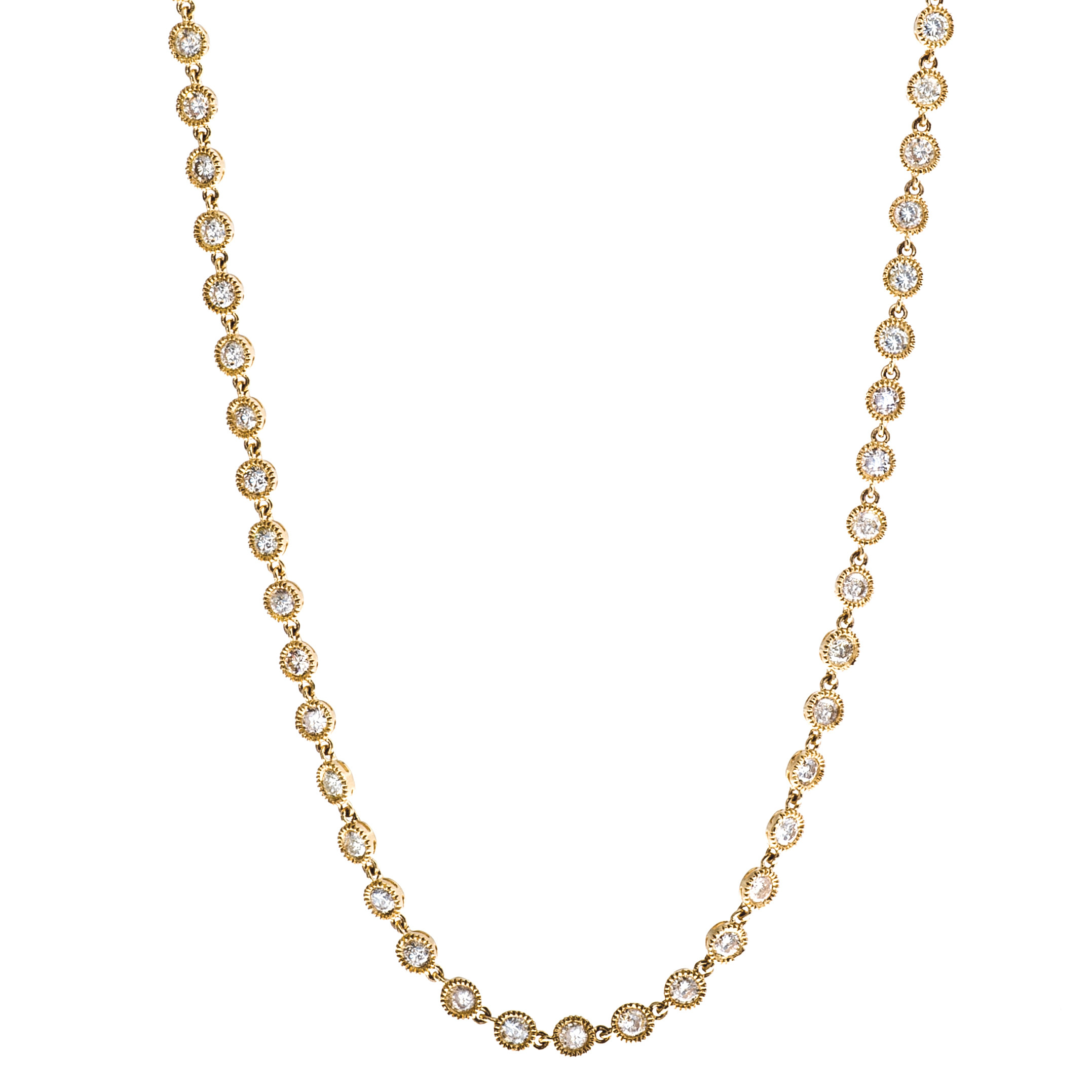 New 9.77 CTW Diamond Necklace