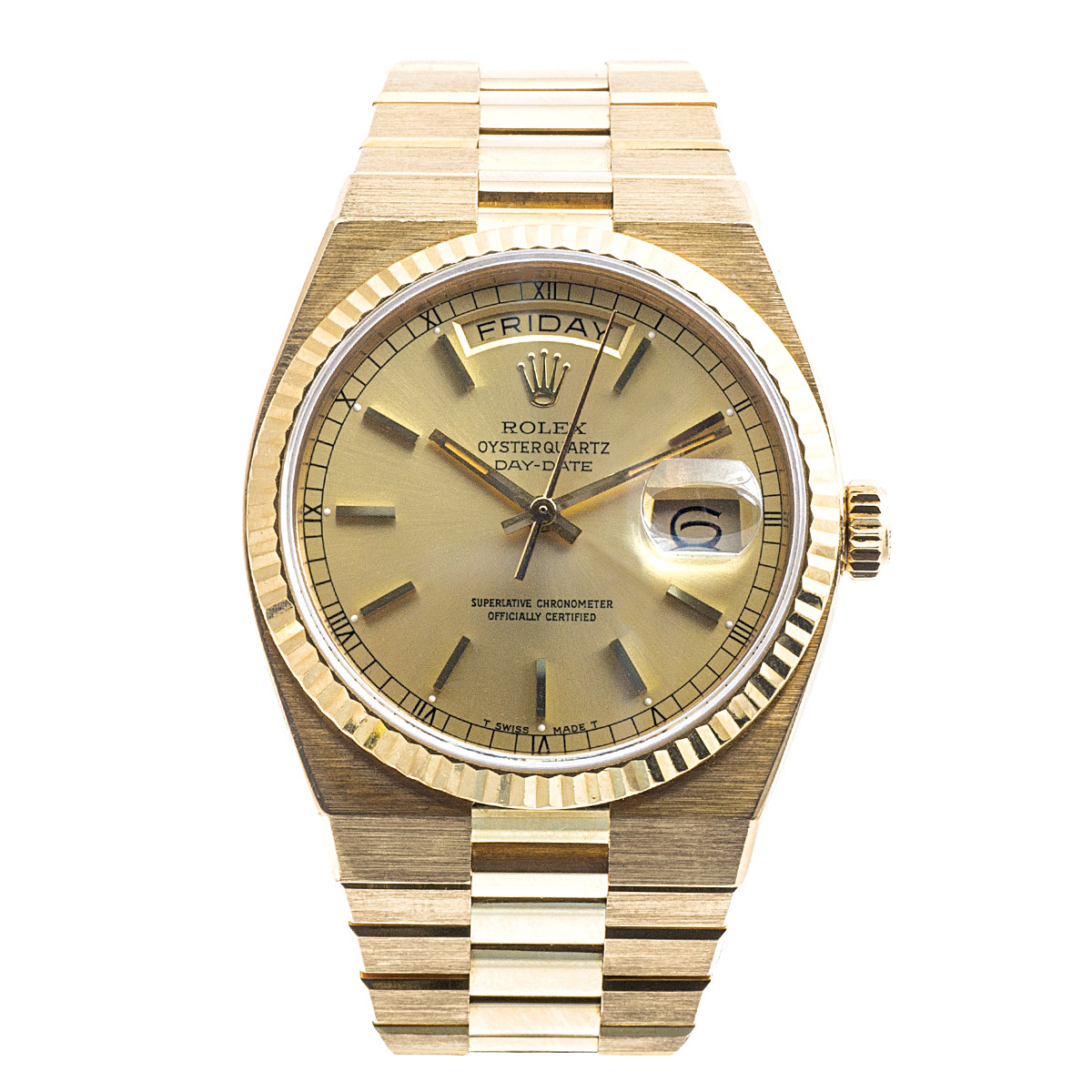 Preowned Rolex OysterQuartz Day-Date President