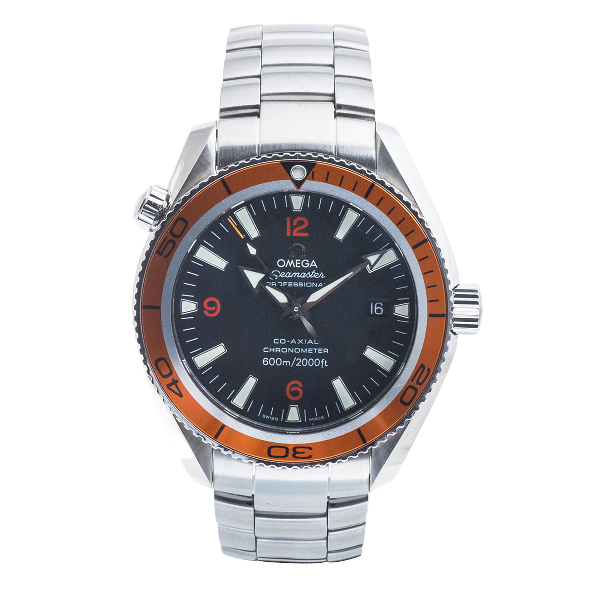 Preowned Omega Seamaster Planet Ocean 600 M