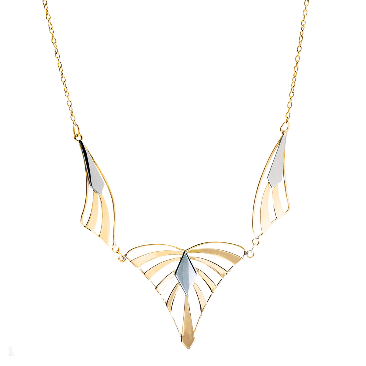Vintage Art Deco-Inspired Arch Necklace