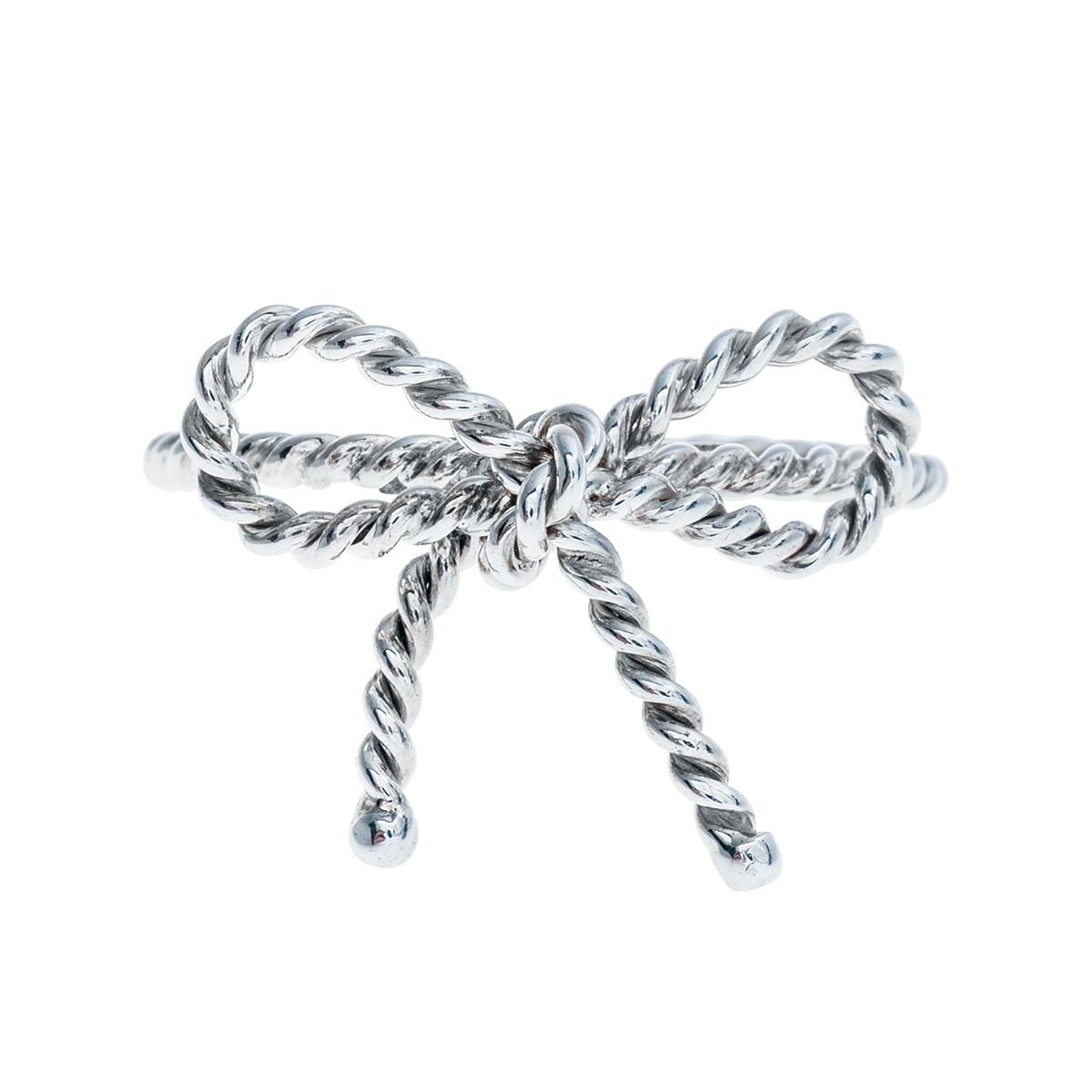 Vintage Tiffany & Co. Twist Bow Ring