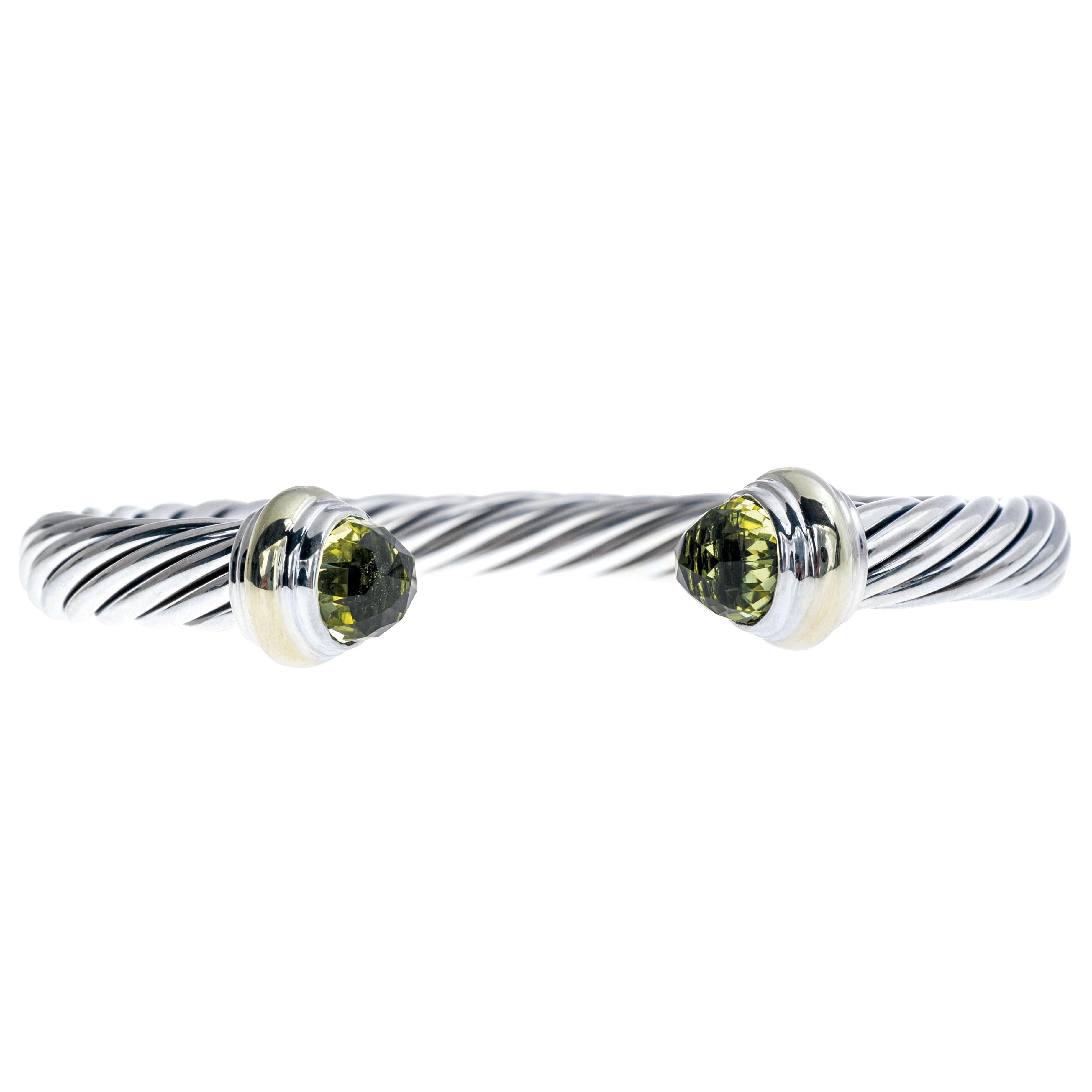 Vintage David Yurman Peridot Bracelet