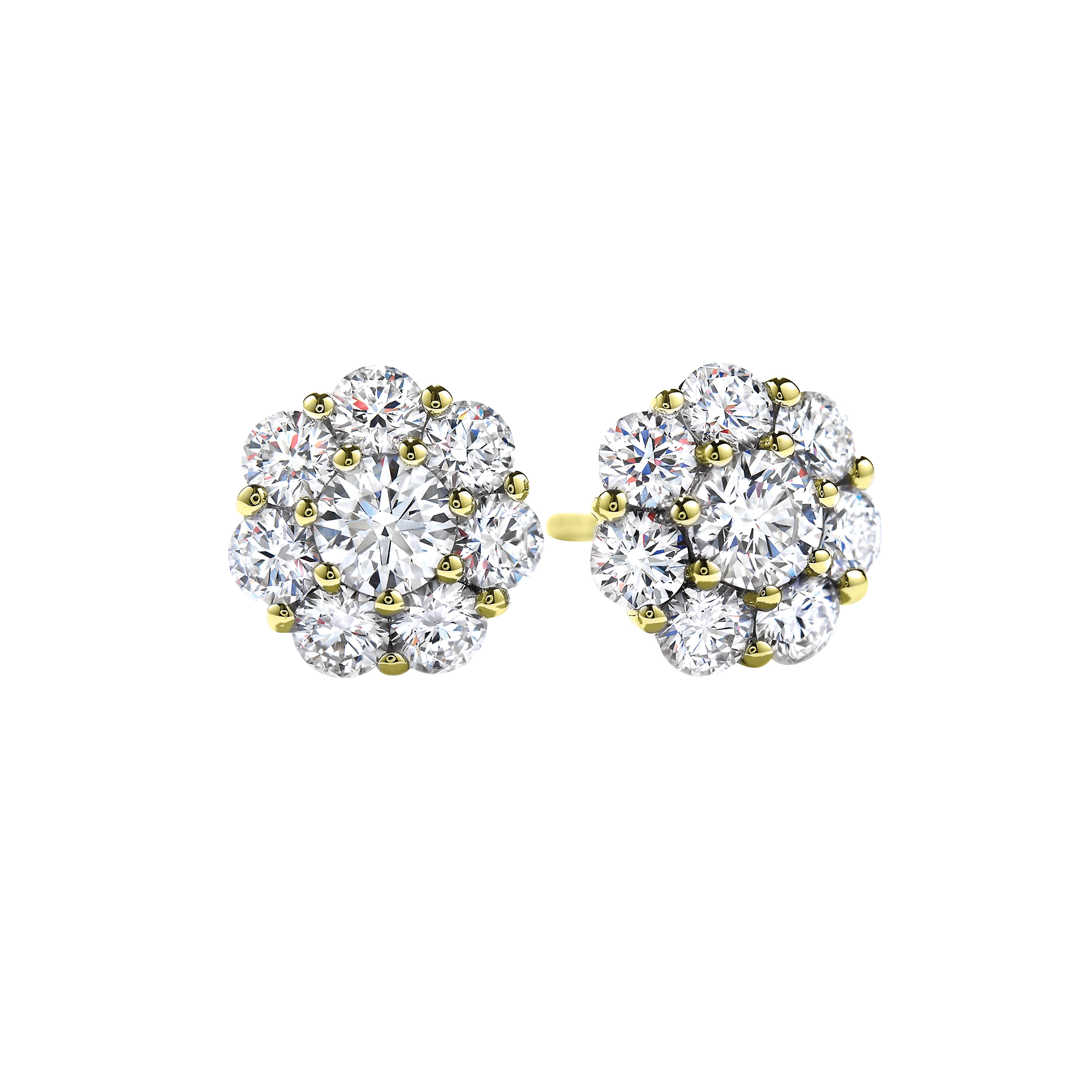 Vintage Hearts On Fire® 0.50 CTW Diamond Beloved Stud Earrings
