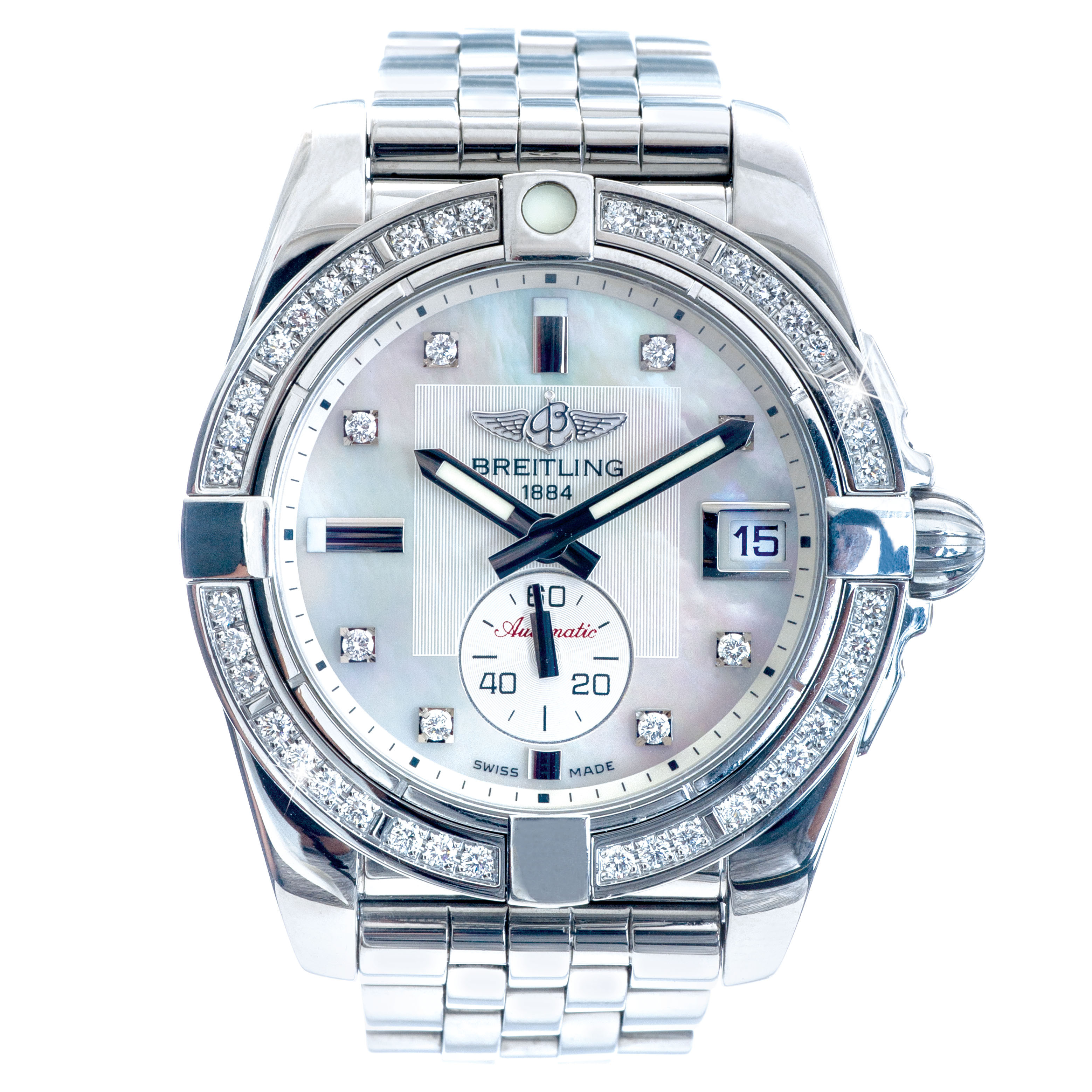 Pre-Owned Breitling Galactic