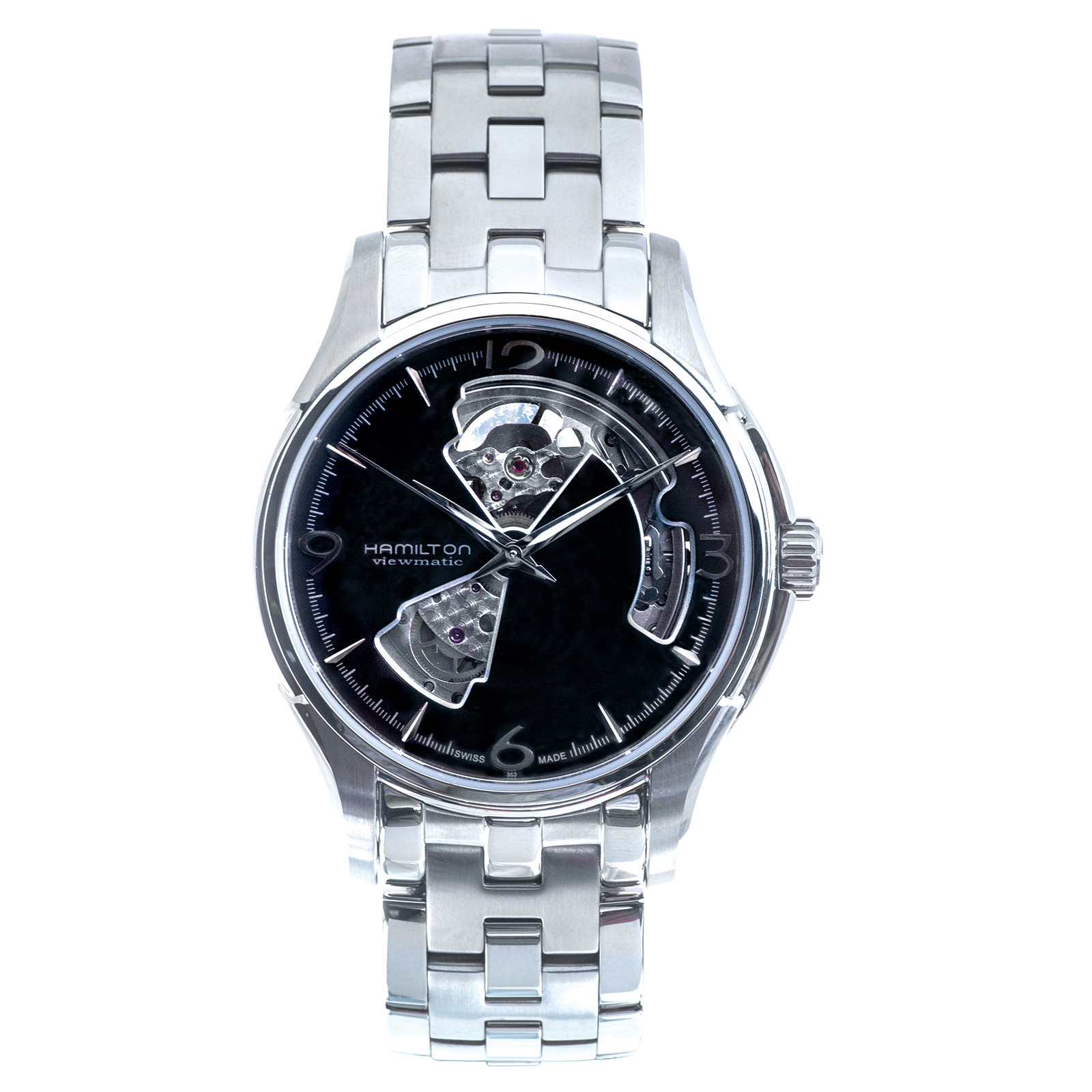 New Hamilton Jazzmaster Open Heart Viewmatic