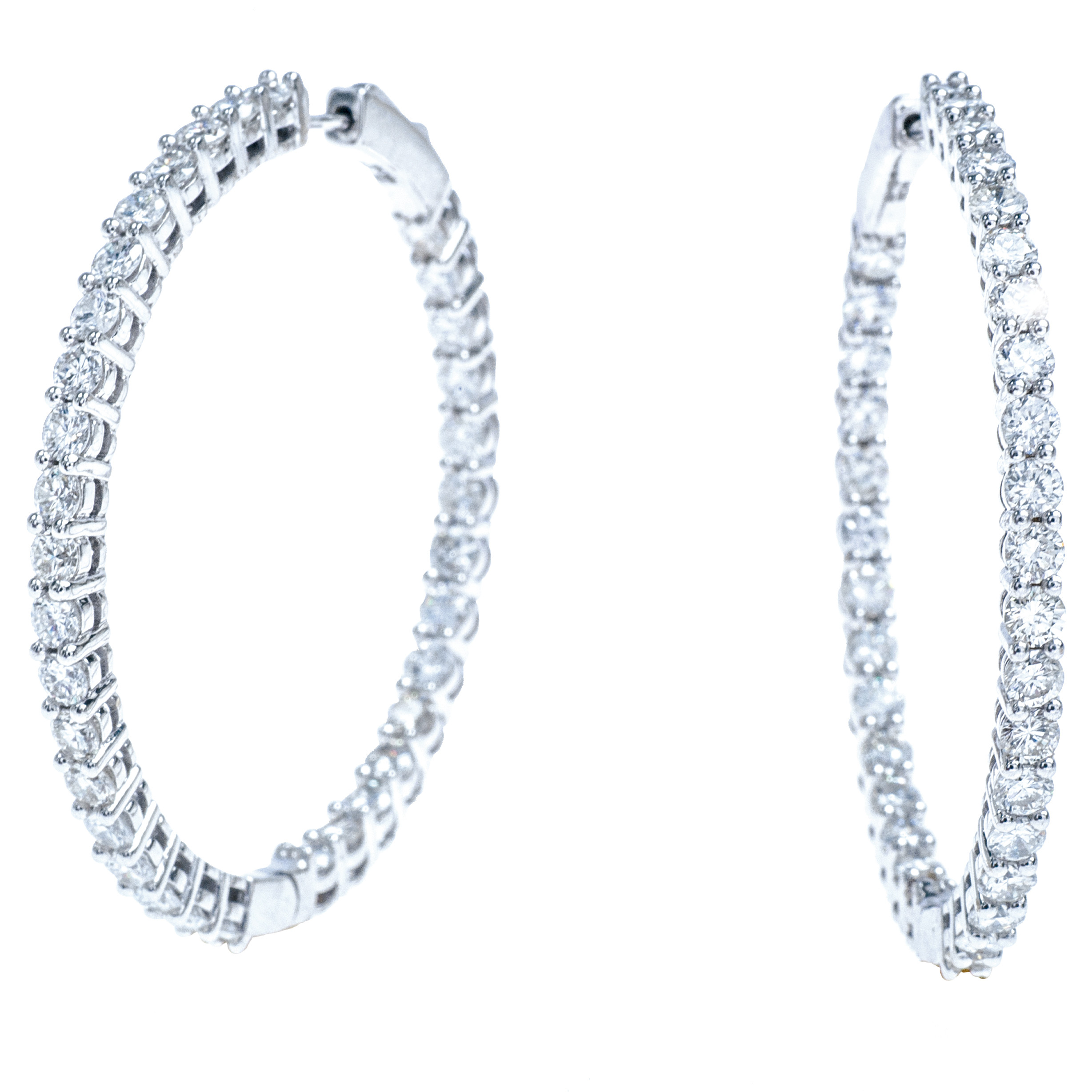 New 4.51 CTW Diamond Earrings
