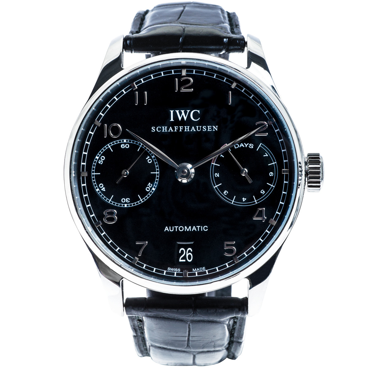 Pre-Owned IWC Portuguese 7-Day Power Reserve Chronograph