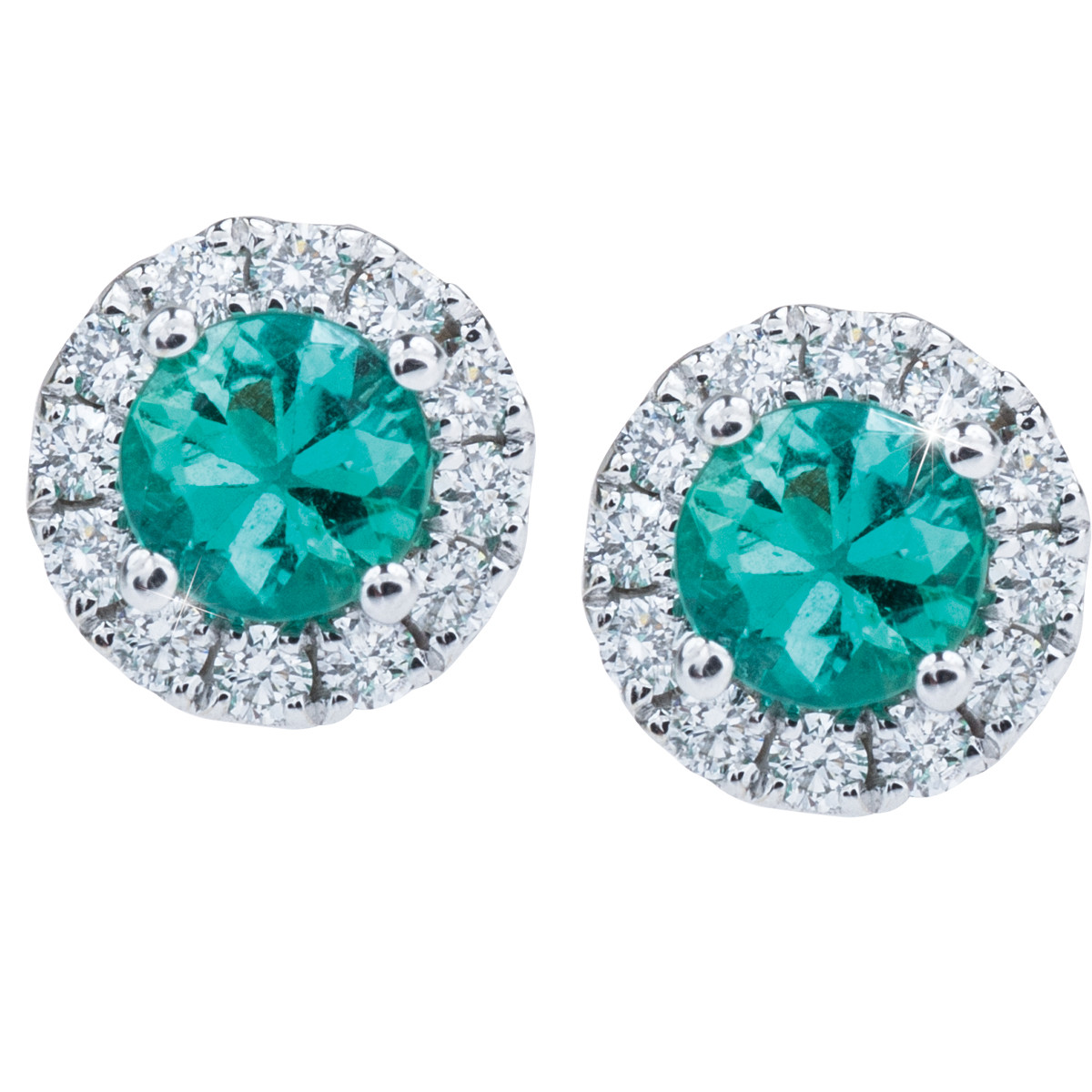 New Emerald & Diamond Earrings