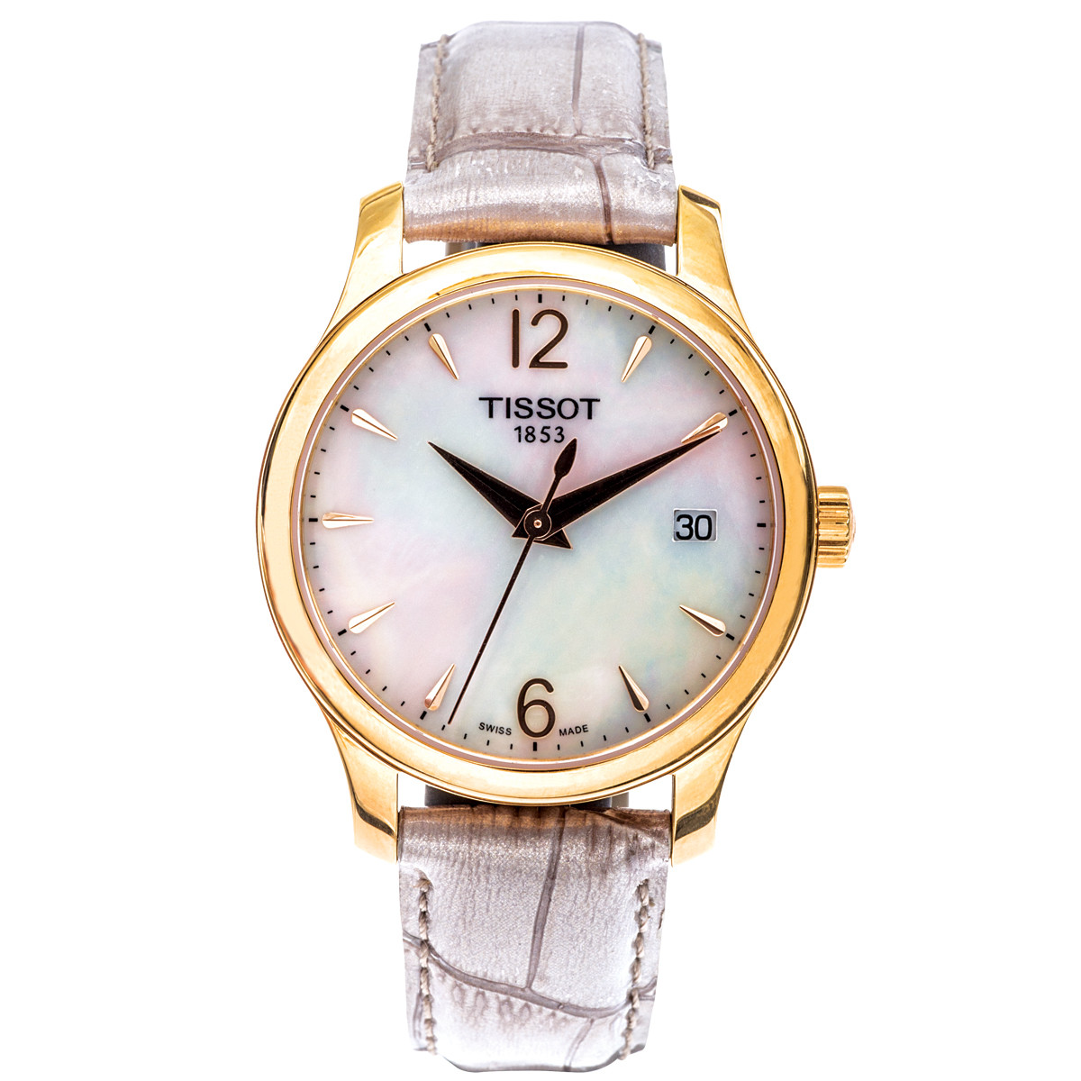 New Women's Tissot Tradition with Mother Of Pearl Dial