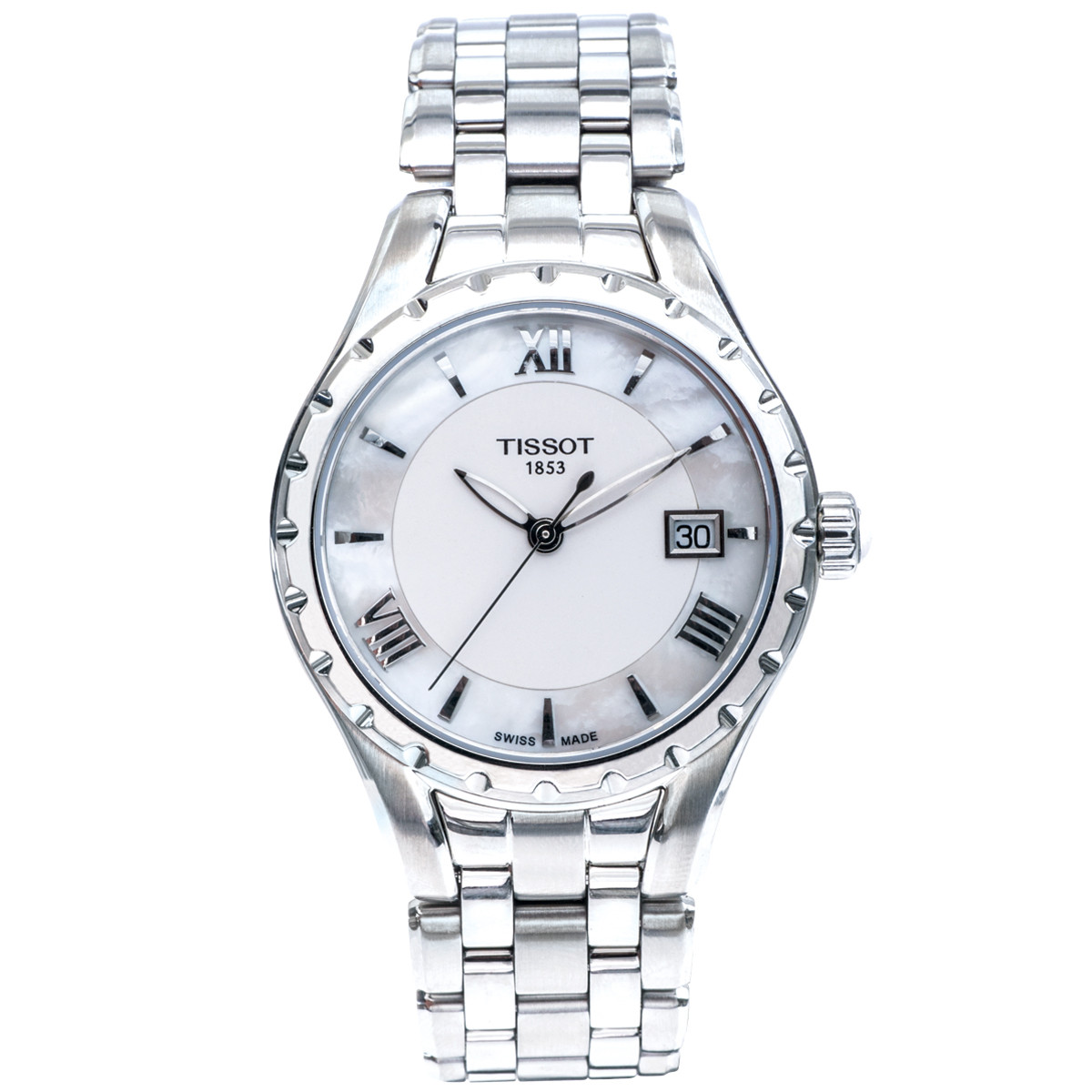 New Tissot T-Trend with Mother Of Pearl Dial