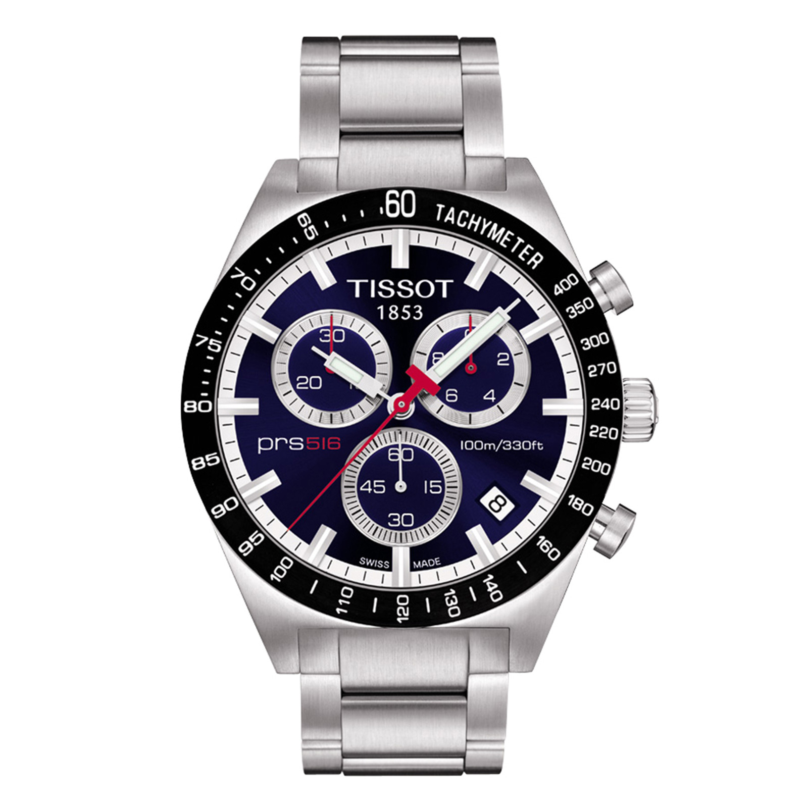 New Men's Tissot PRS516 Chronograph