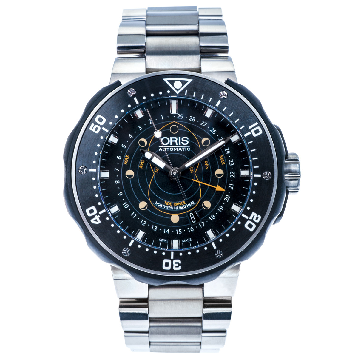 Pre-Owned Oris ProDiver Pointer Moon