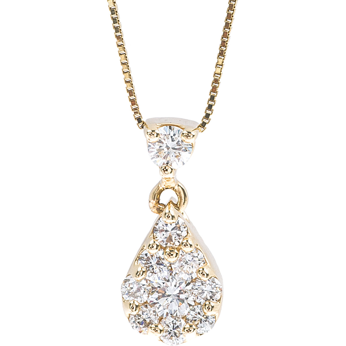 Vintage 0.42 CTW Diamond Necklace