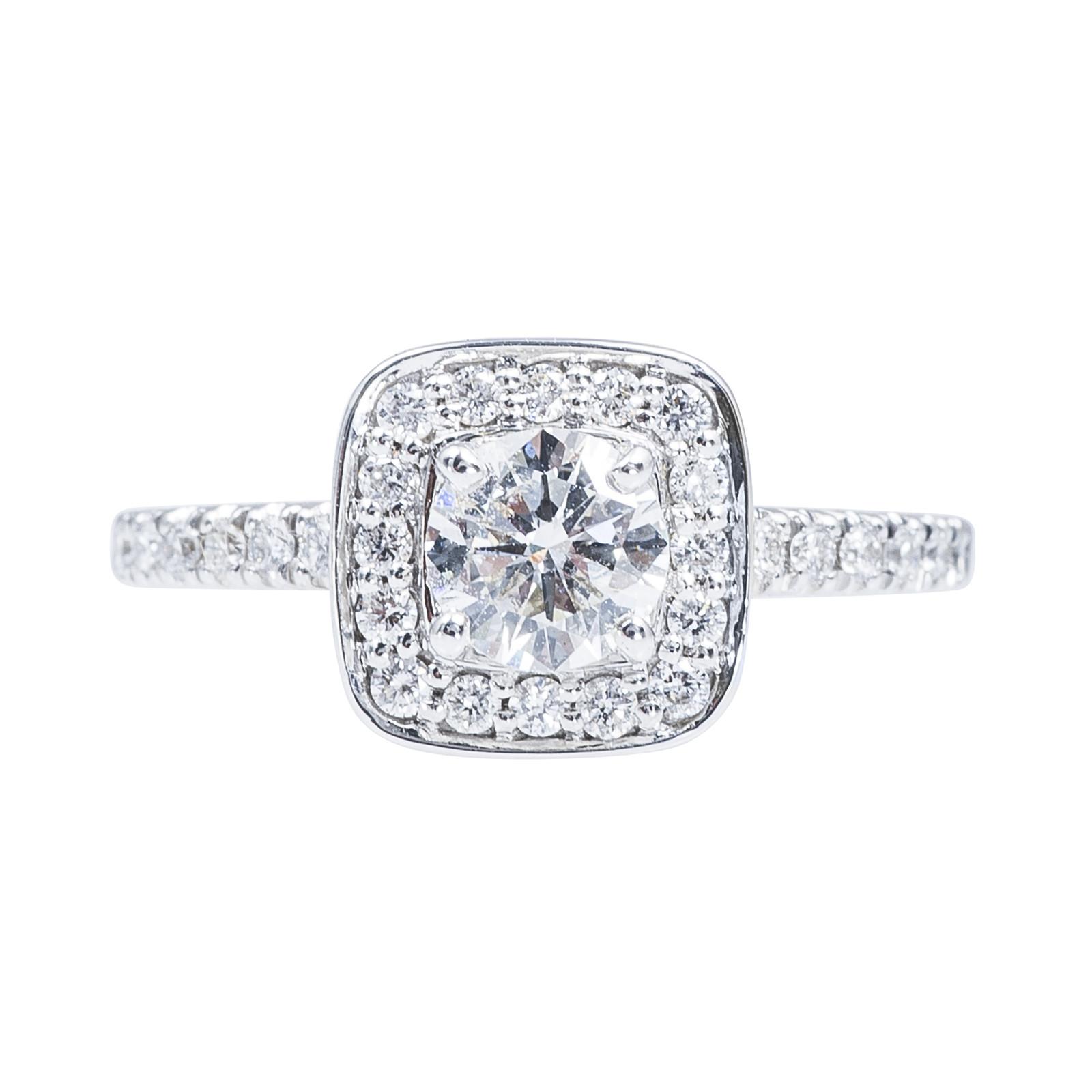 Vintage 0.70 CTW Diamond Engagement Ring