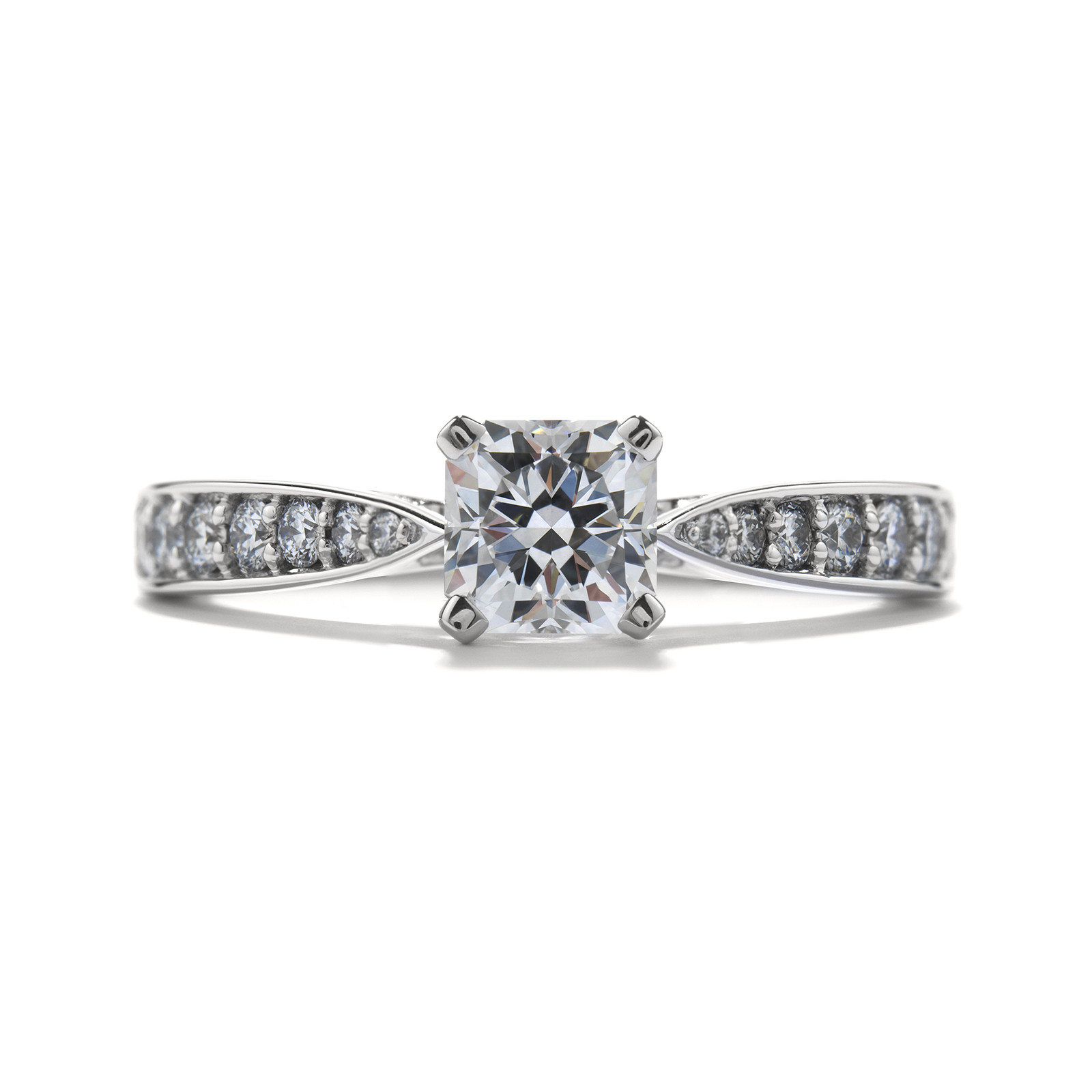 New Hearts On Fire® 0.818 CTW Dream Diamond Truly Bridal Ring