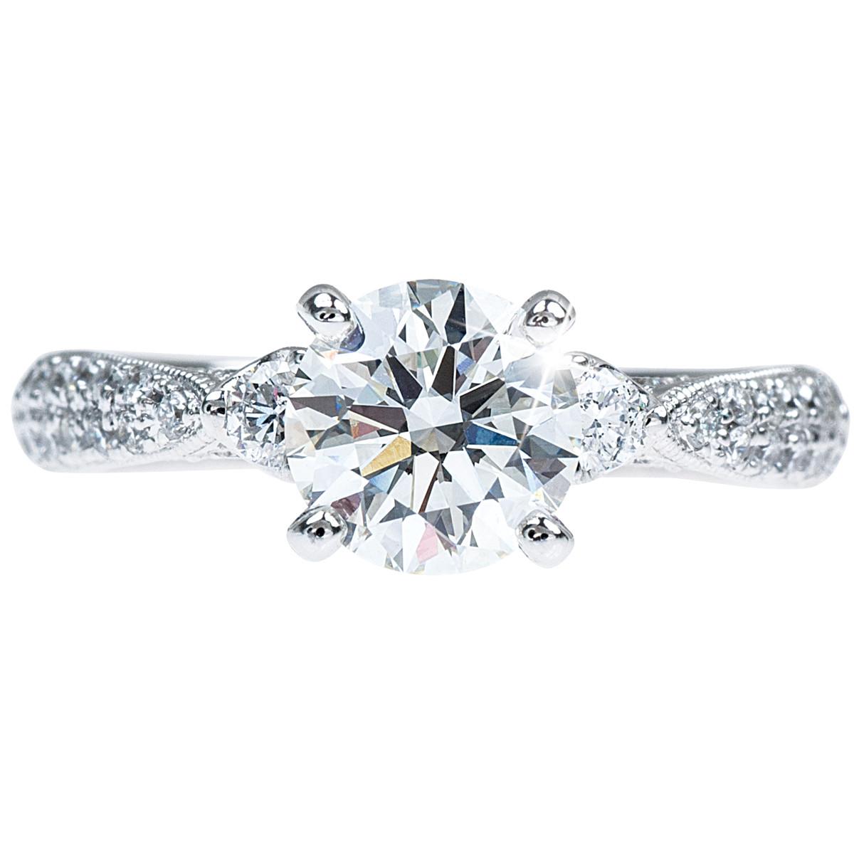 New Venetti 1.67 CTW Diamond Engagement Ring