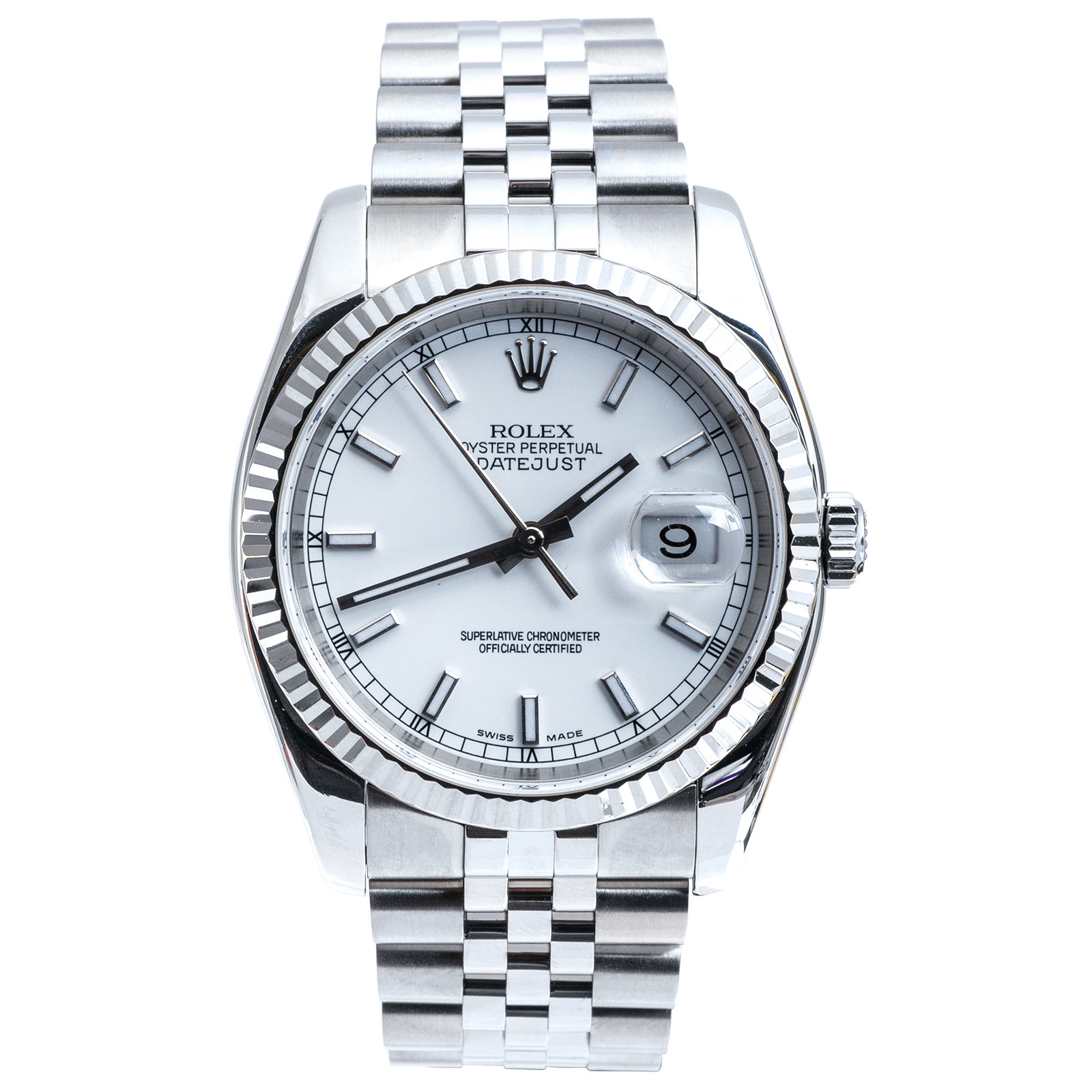 re-Owned Man's Rolex Datejust