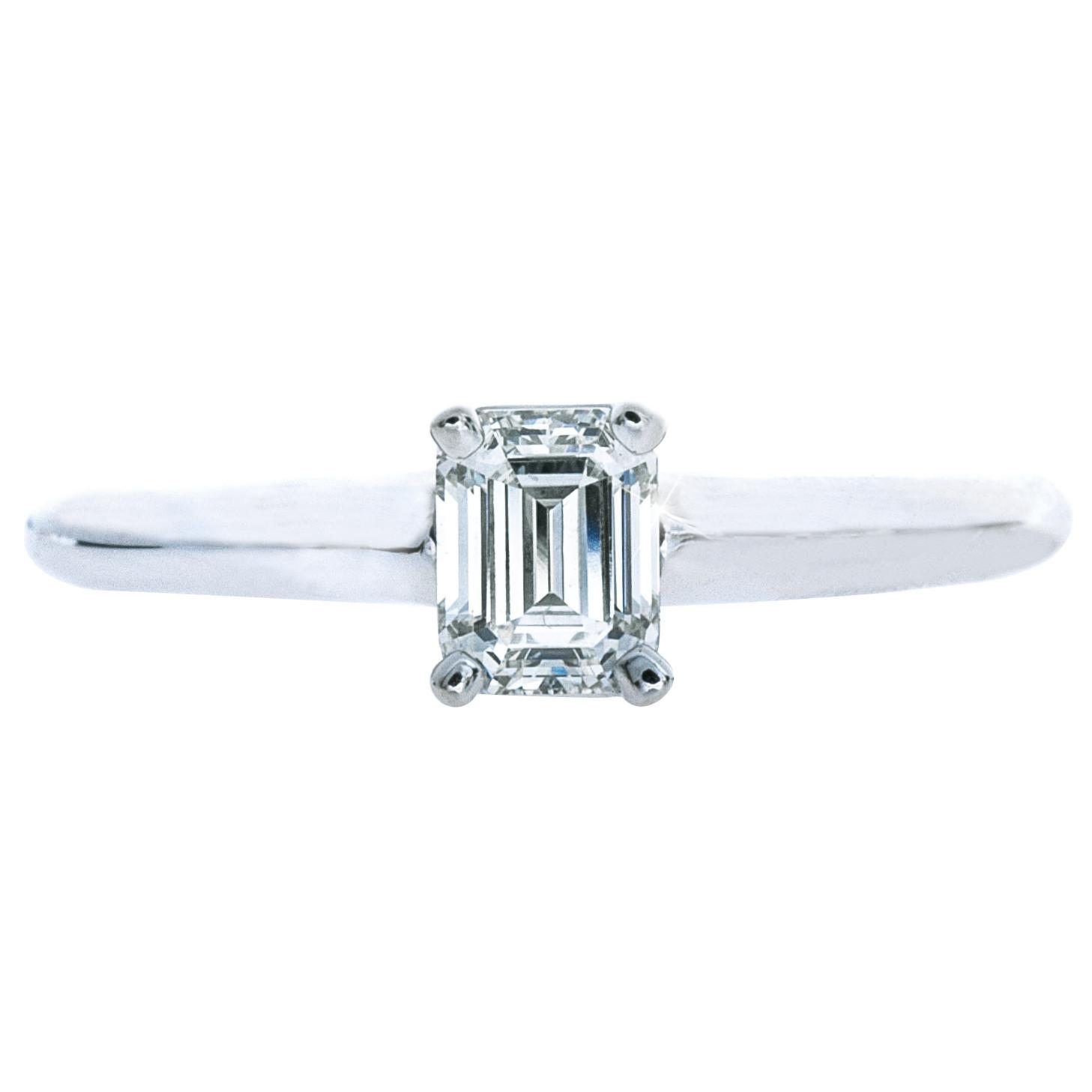 Vintage 0.50 CT Diamond Engagment Ring