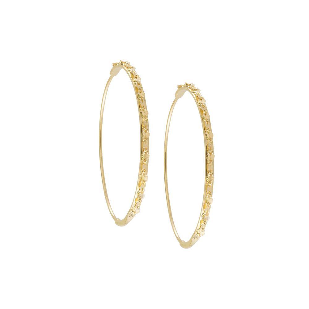 New Lana Flat Glam Magic Hoop Earrings