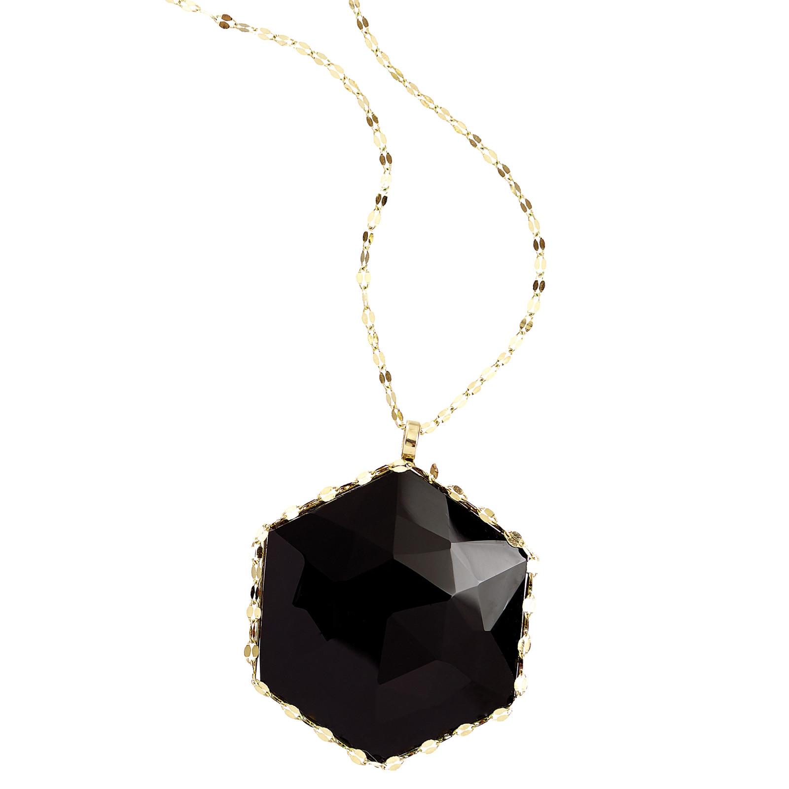New  Lana Jewelry Black Onyx Noir Dusk Pendant