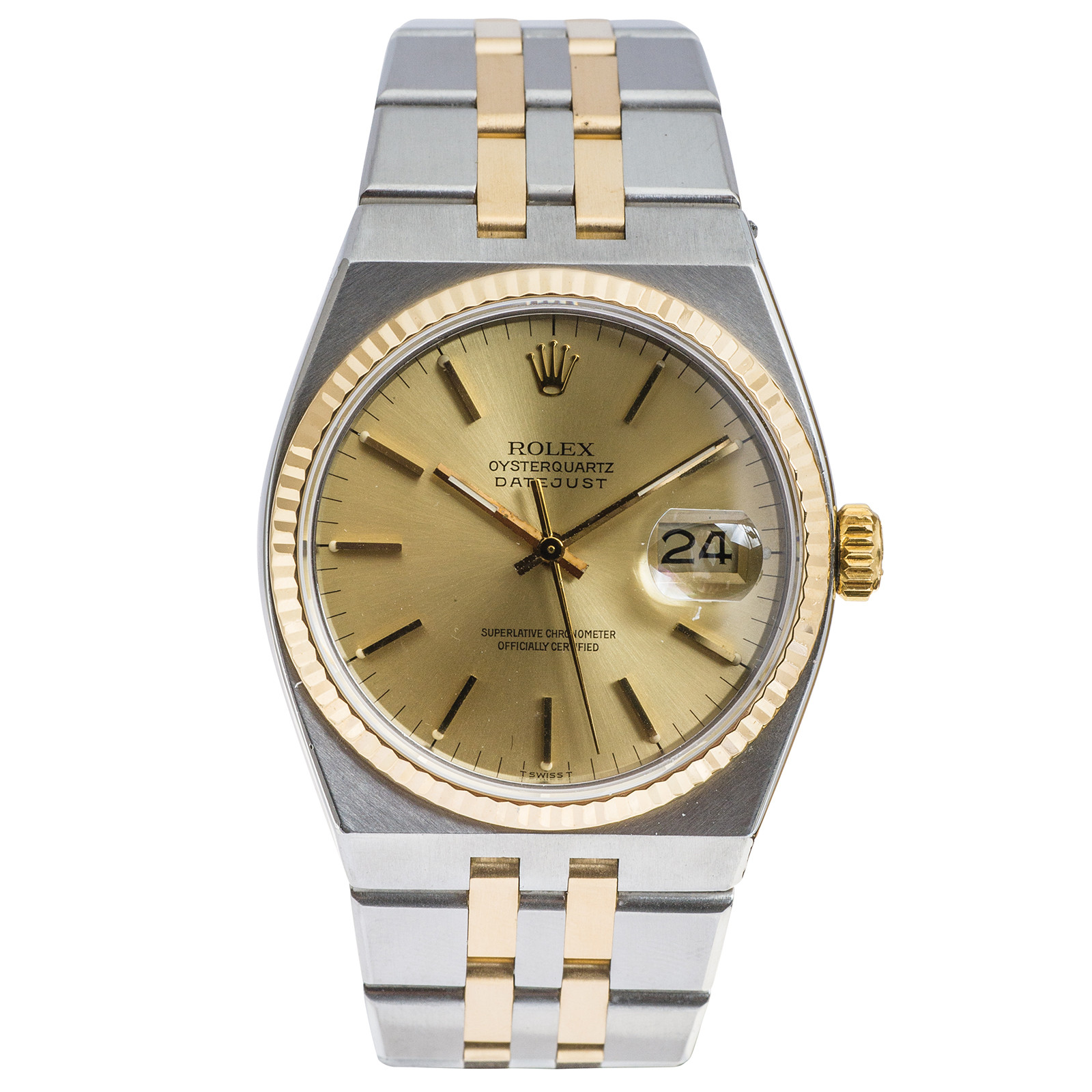 Pre-Owned Rolex Oysterquartz Datejust
