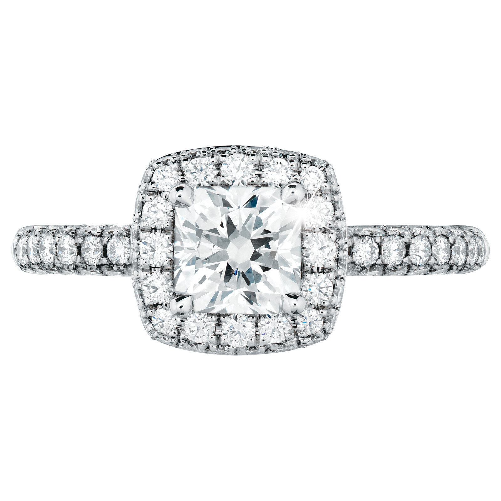 New Hearts On Fire® 1.373 ctw Euphoria Sweet Dream Engagement Ring