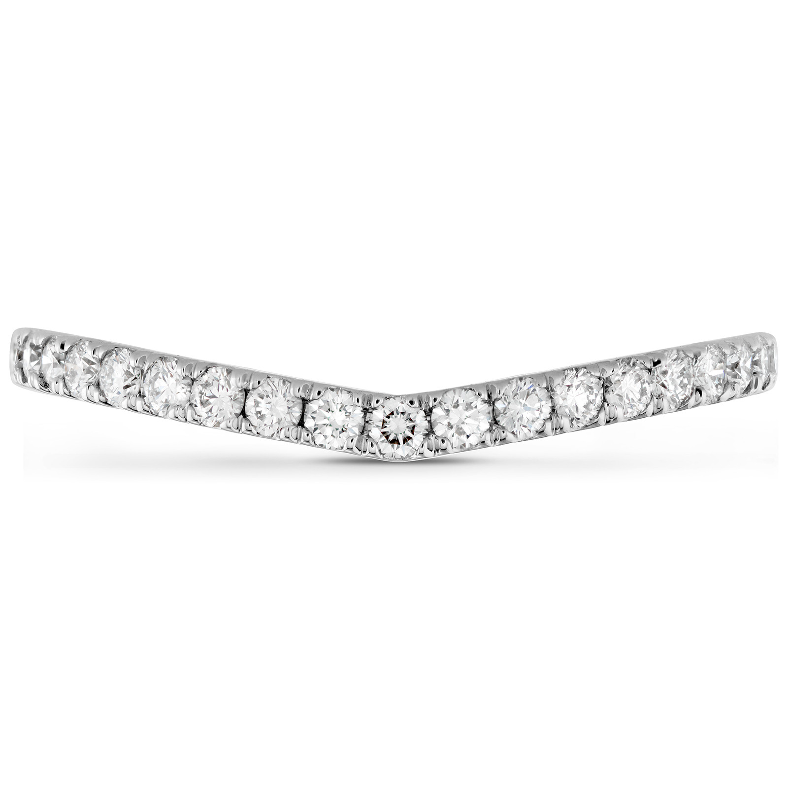 New Hearts On Fire® 0.26 CTW Diamond Destiny Pointed Band