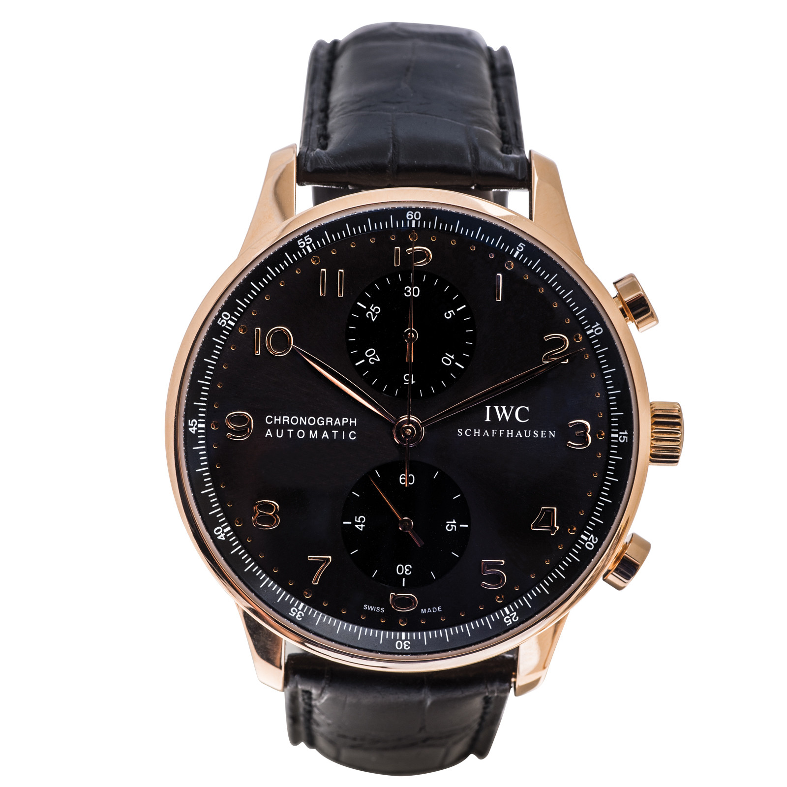 Pre-Owned IWC Portuguese Chronograph