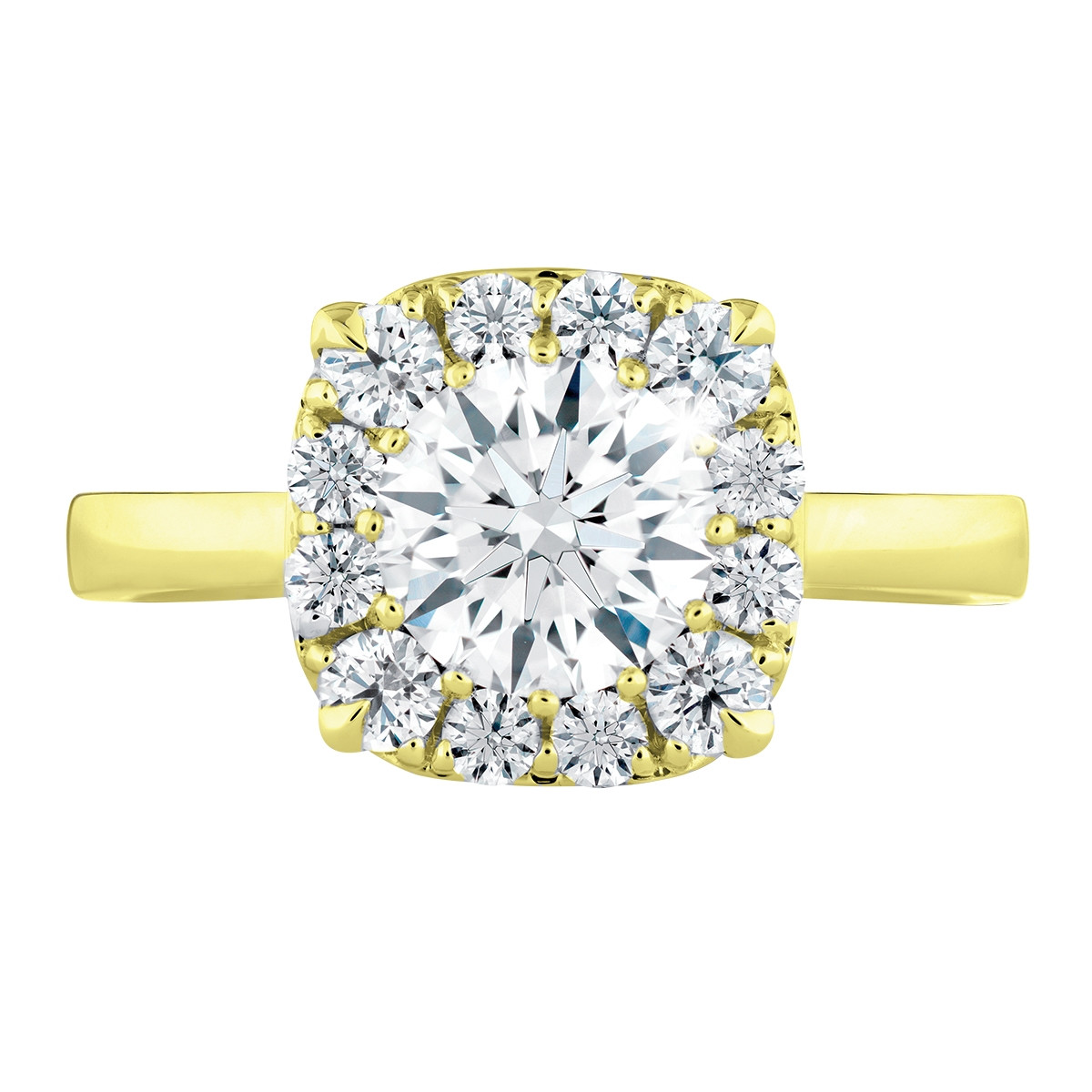 New Hearts On Fire® 1.288 CTW Signature Diamond Engagement Ring