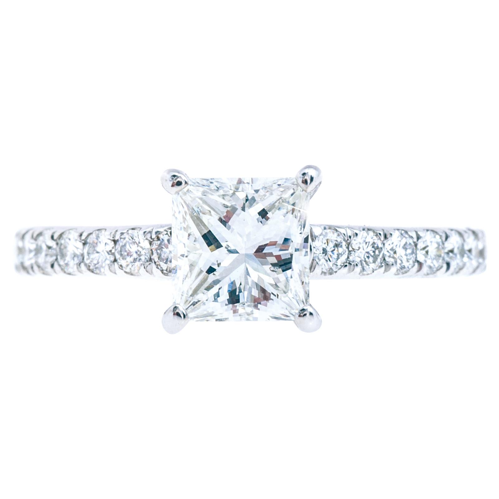 Vintage 1.43 CTW Diamond Engagement Ring