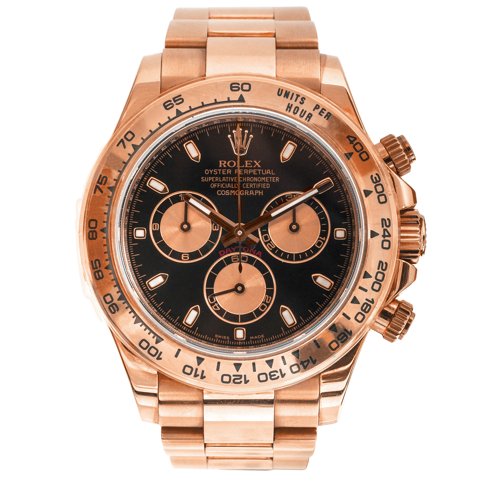 Pre-Owned Rolex Daytona Everose